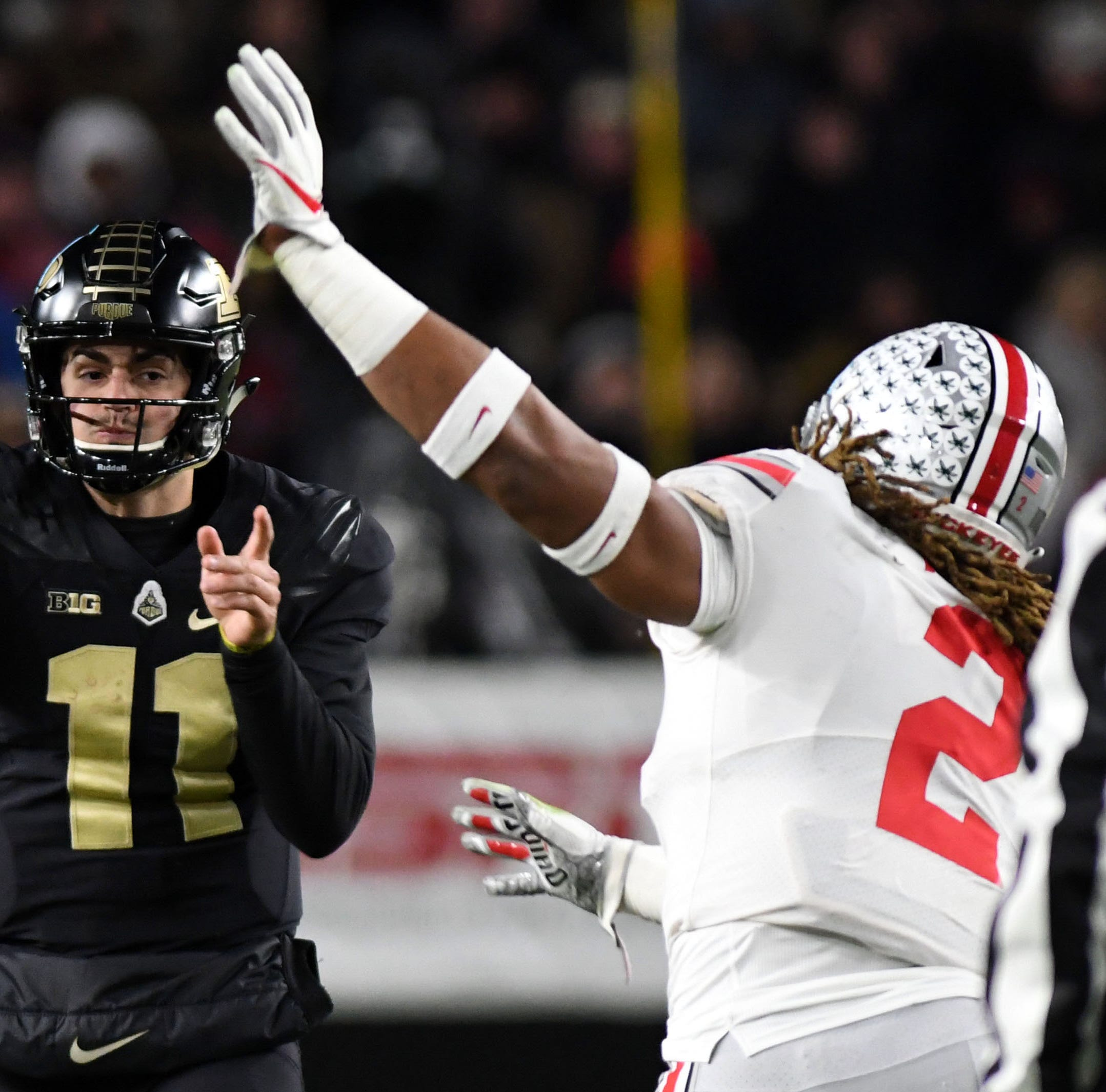 Purdue football beat Ohio State with Tyler Trent watching. And everyone loves it.