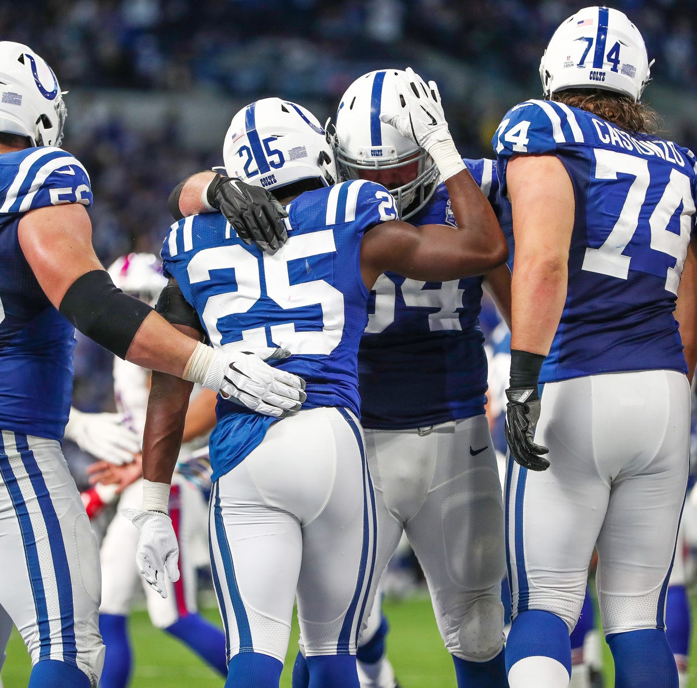 Thumbs Up/Down: Colts offensive line looks legit, new defenders stepping up