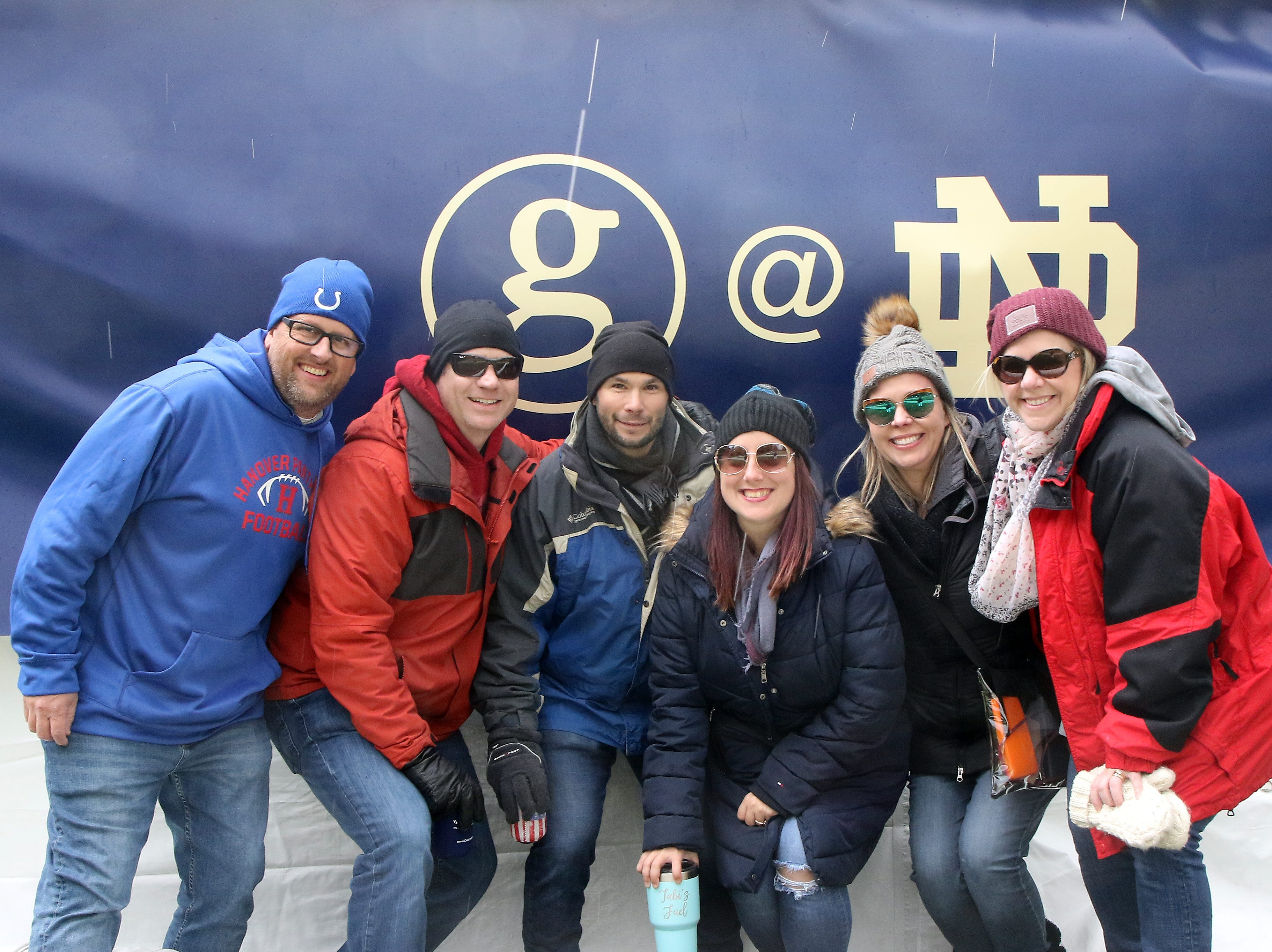 Fans of Garth Brooks pour in toward Notre Dame stadium for historic first-ever concert at Notre Dame Stadium in South Bend, Ind., on Saturday, Oct. 20, 2018.