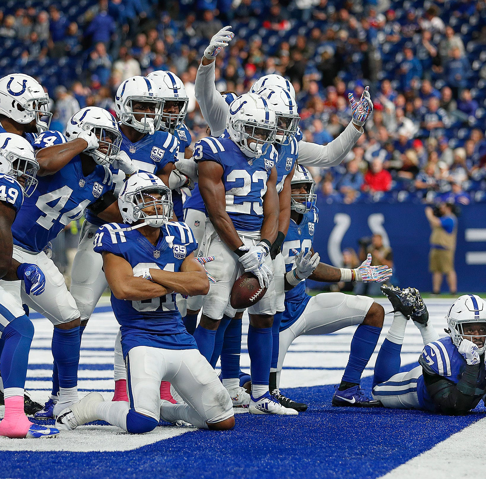 Colts throttle Bills to get win No. 2