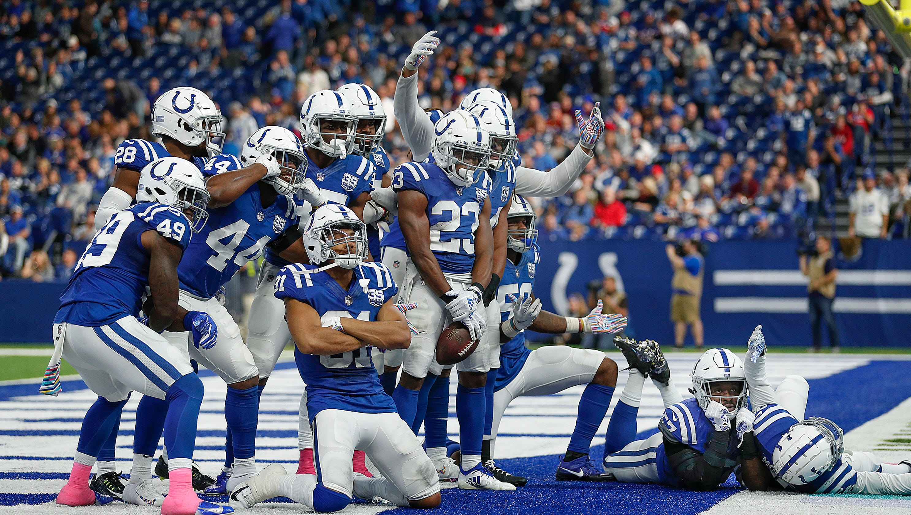 From 1-5 to playoffs  doorstep  Inside the players-only meeting that swung the  Colts  2018 season 1a5eafddf
