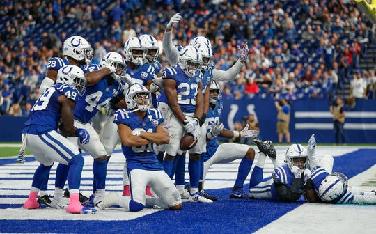 Since the Colts players-only meeting back in October, the team is 8-1.