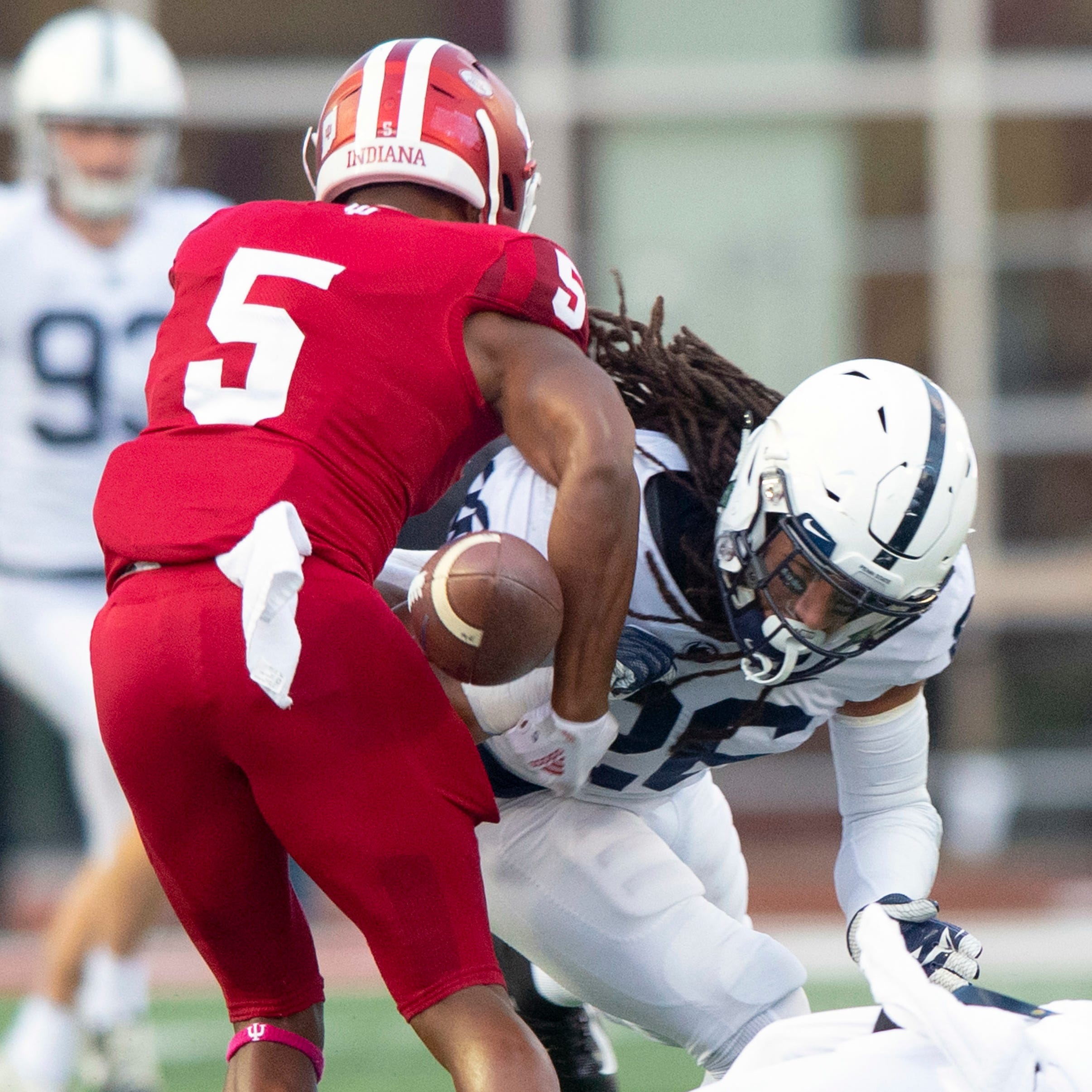Report card: IU offense, defense gains undone by special teams gaffes in loss to Penn State