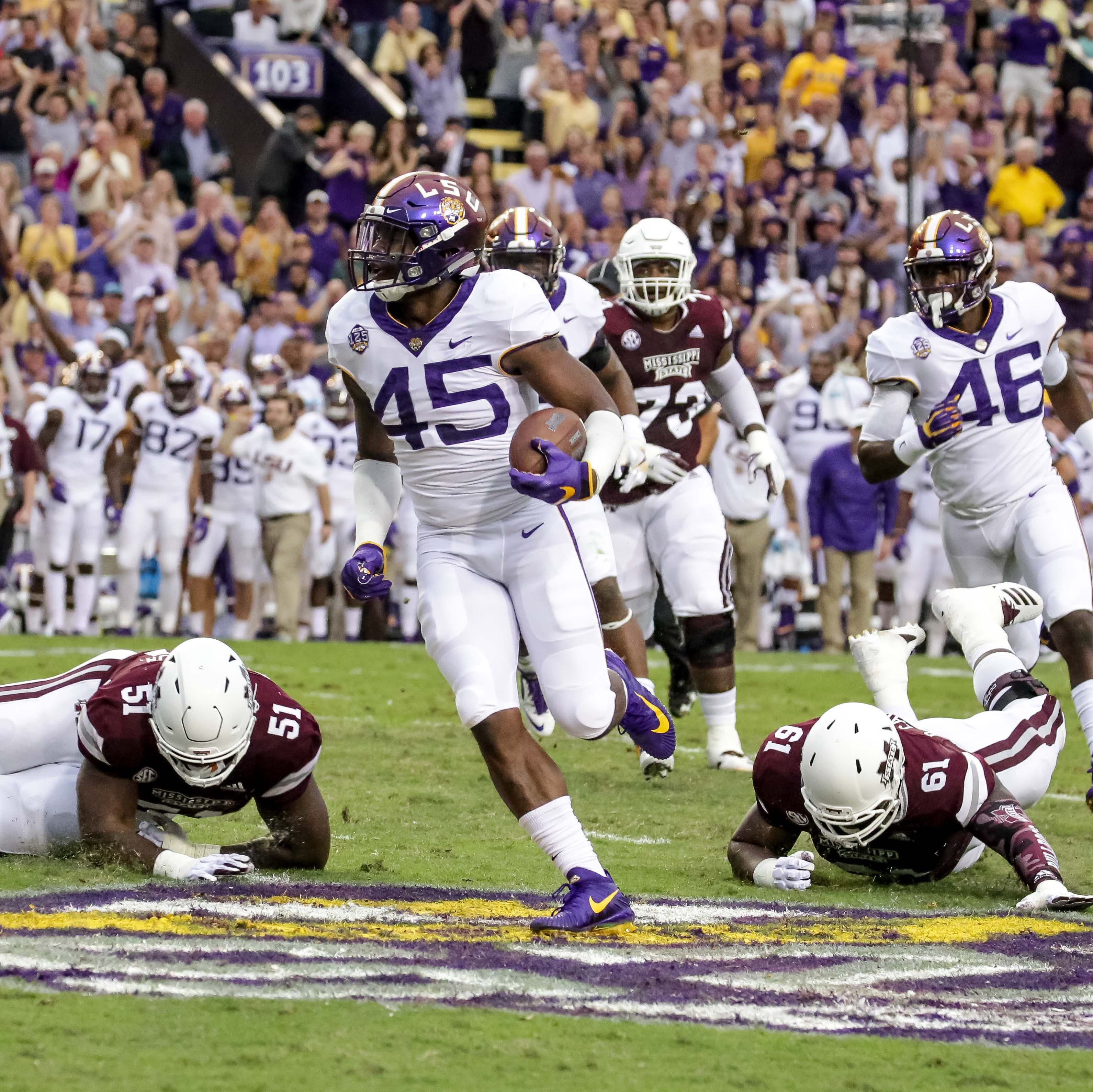 Calm Before Red Storm — Orgeron says LSU to get away from football for a bit in open week