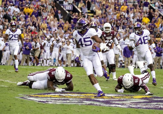 Ncaa Football Mississippi State At Louisiana State