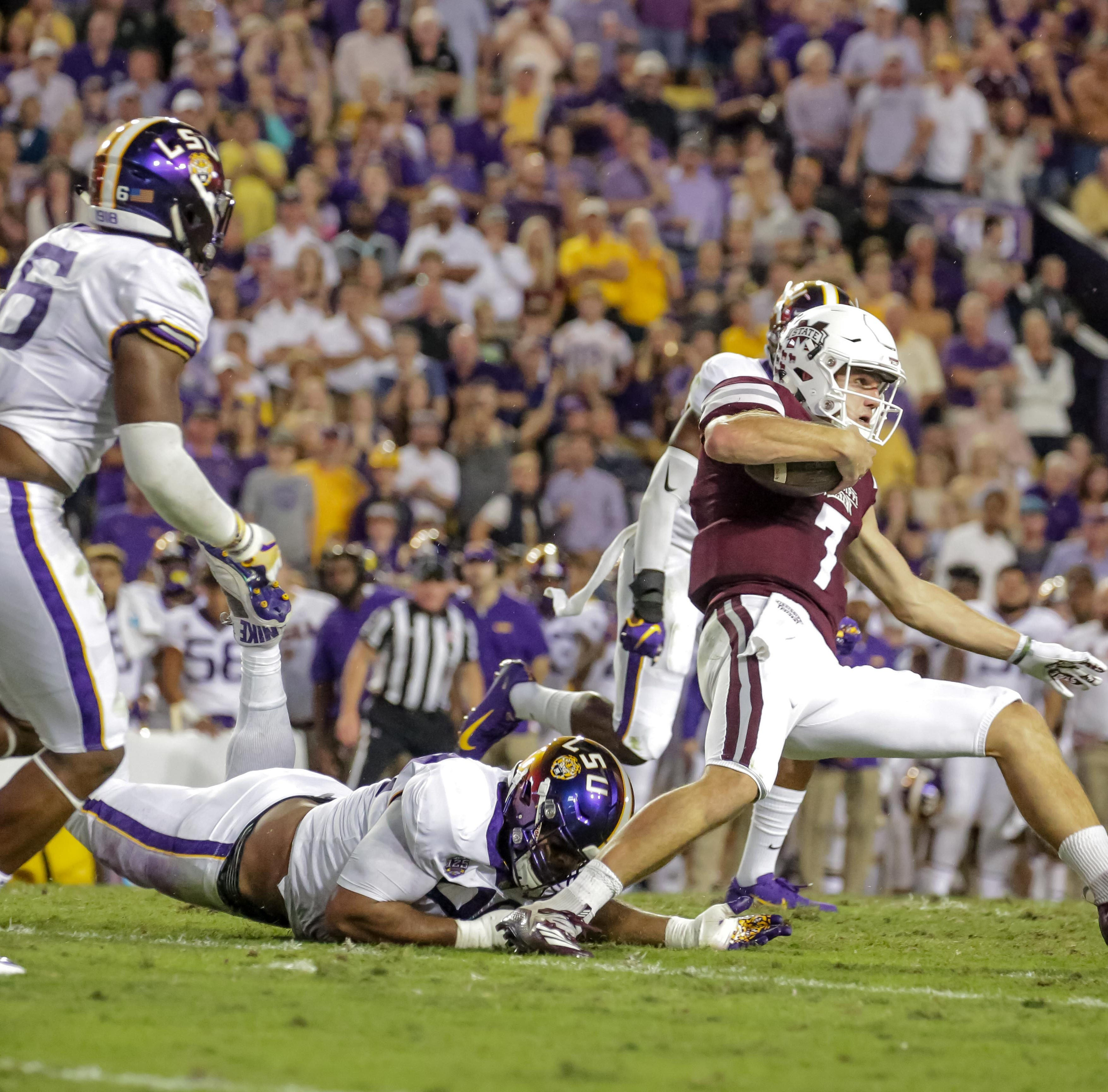 Downed in Death Valley: Mississippi State offense flails in 19-3 loss to No. 5 LSU