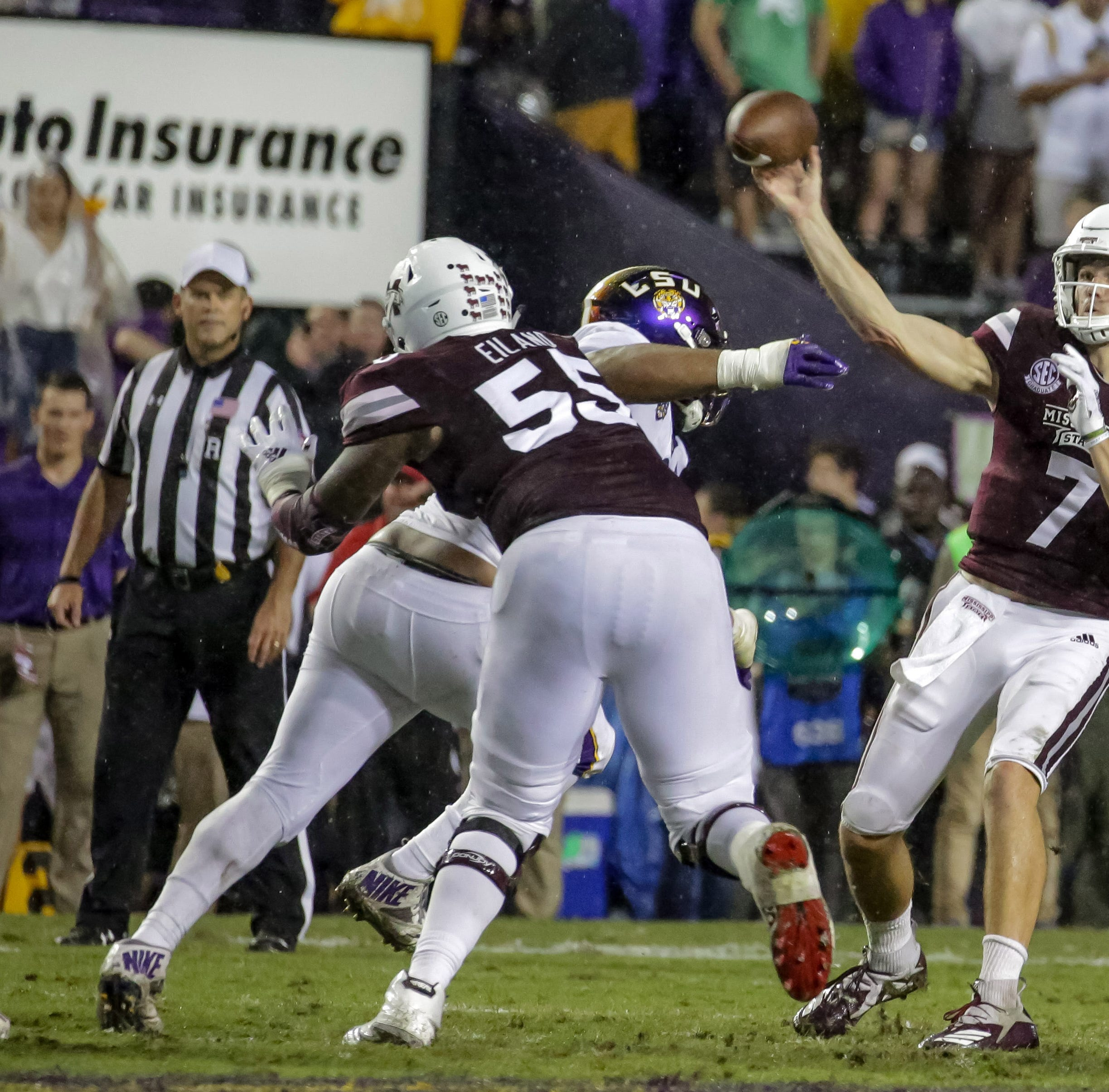 Fitzgerald fails to find his touch in Mississippi State's discouraging loss