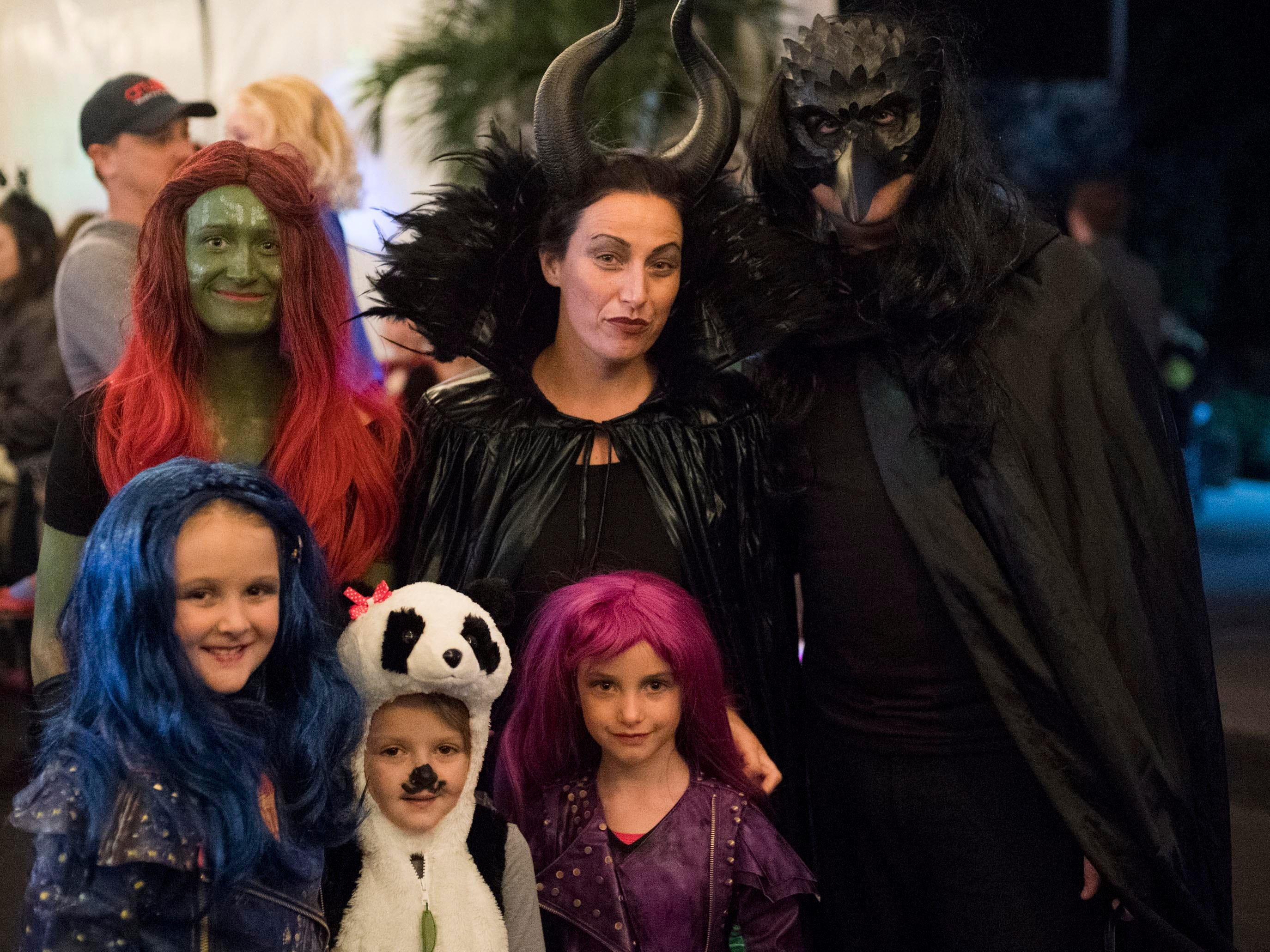 Trick-or-treaters attend the Monster Mash dance party at Zoo Knoxville's Boo! at the Zoo on Saturday, October 20, 2018.