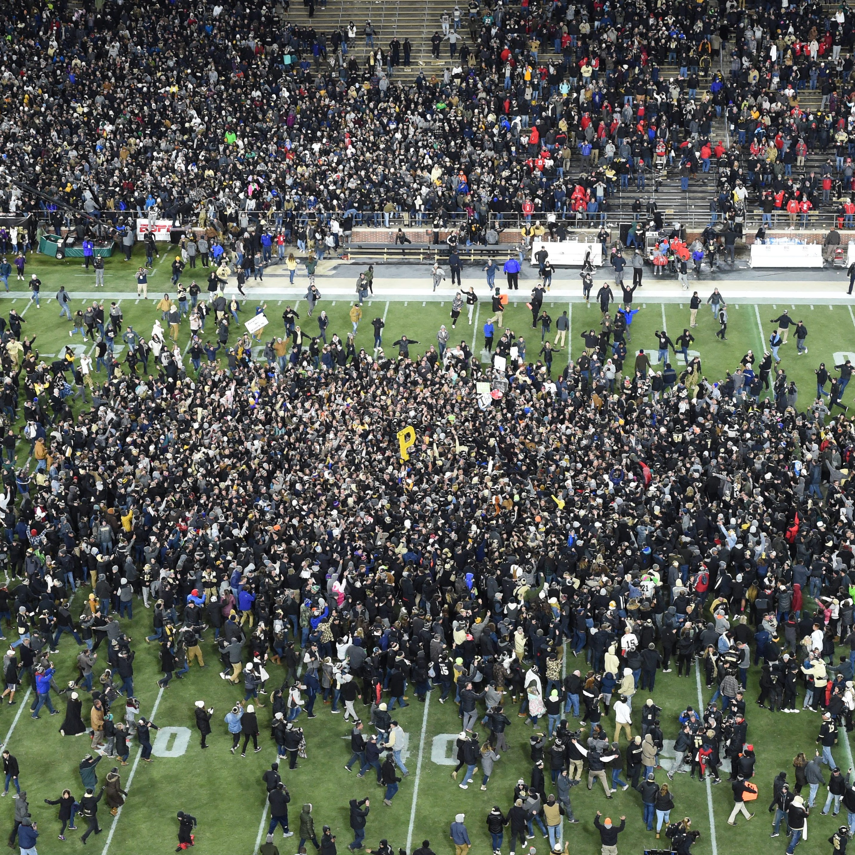 Purdue's Ross-Ade Stadium 'renamed' after upset over Ohio State
