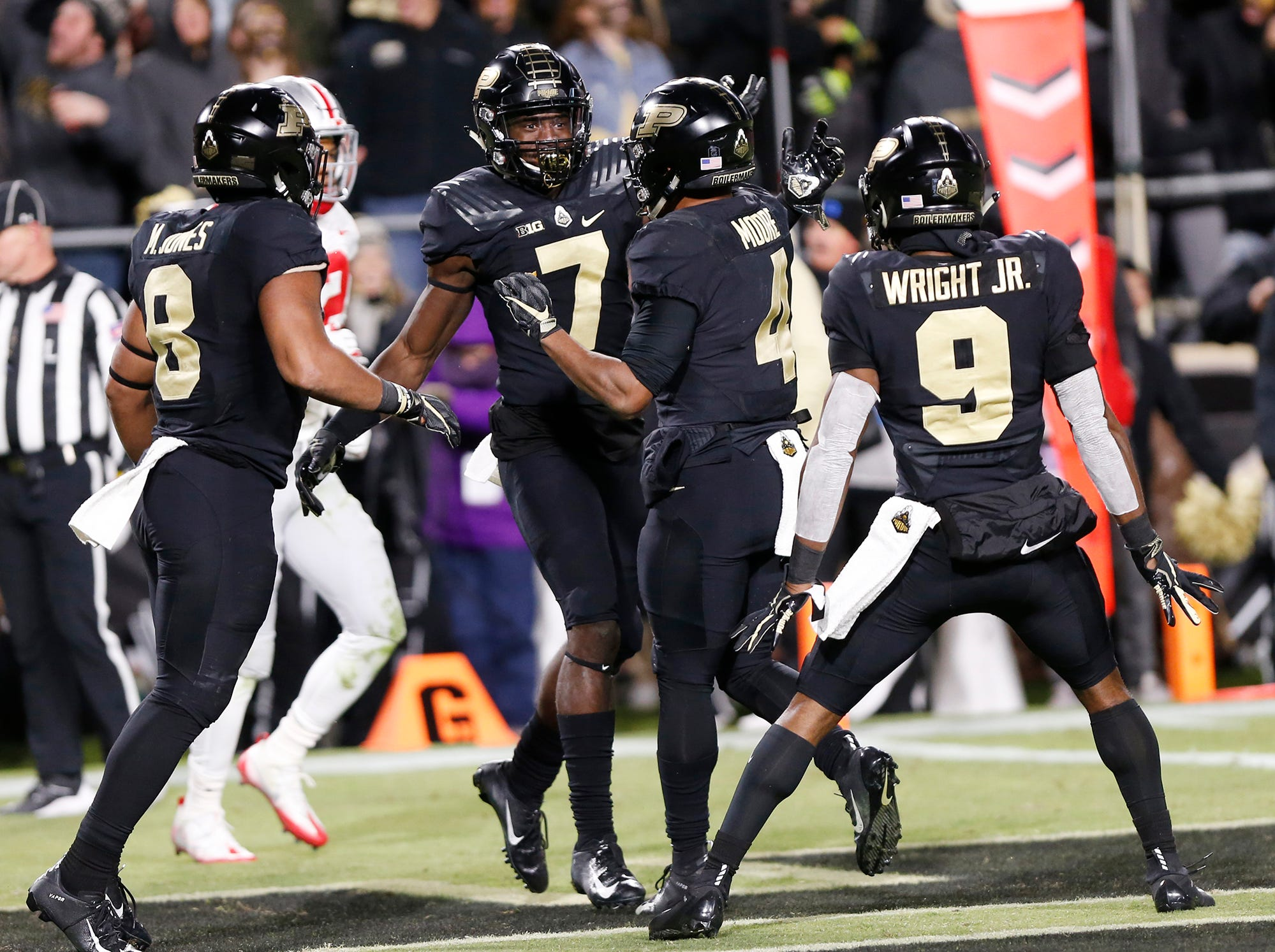 Purdue football selected national team of the week