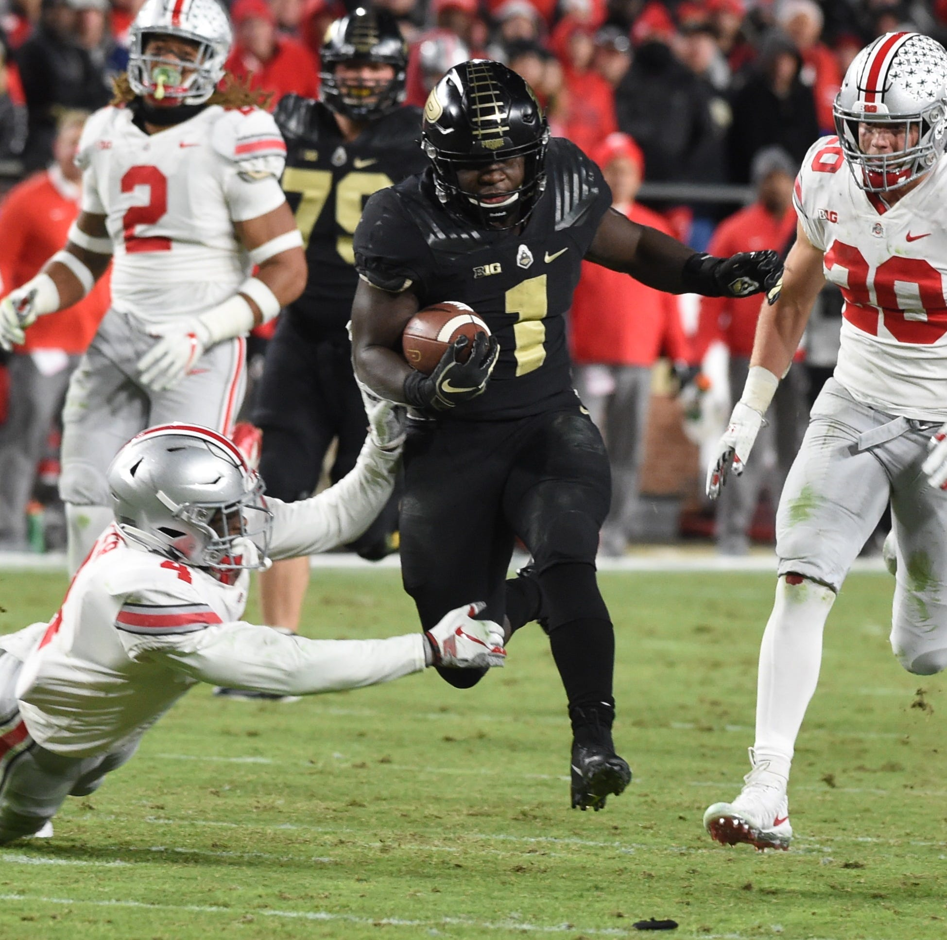 Purdue running back D.J. Knox earns national honor