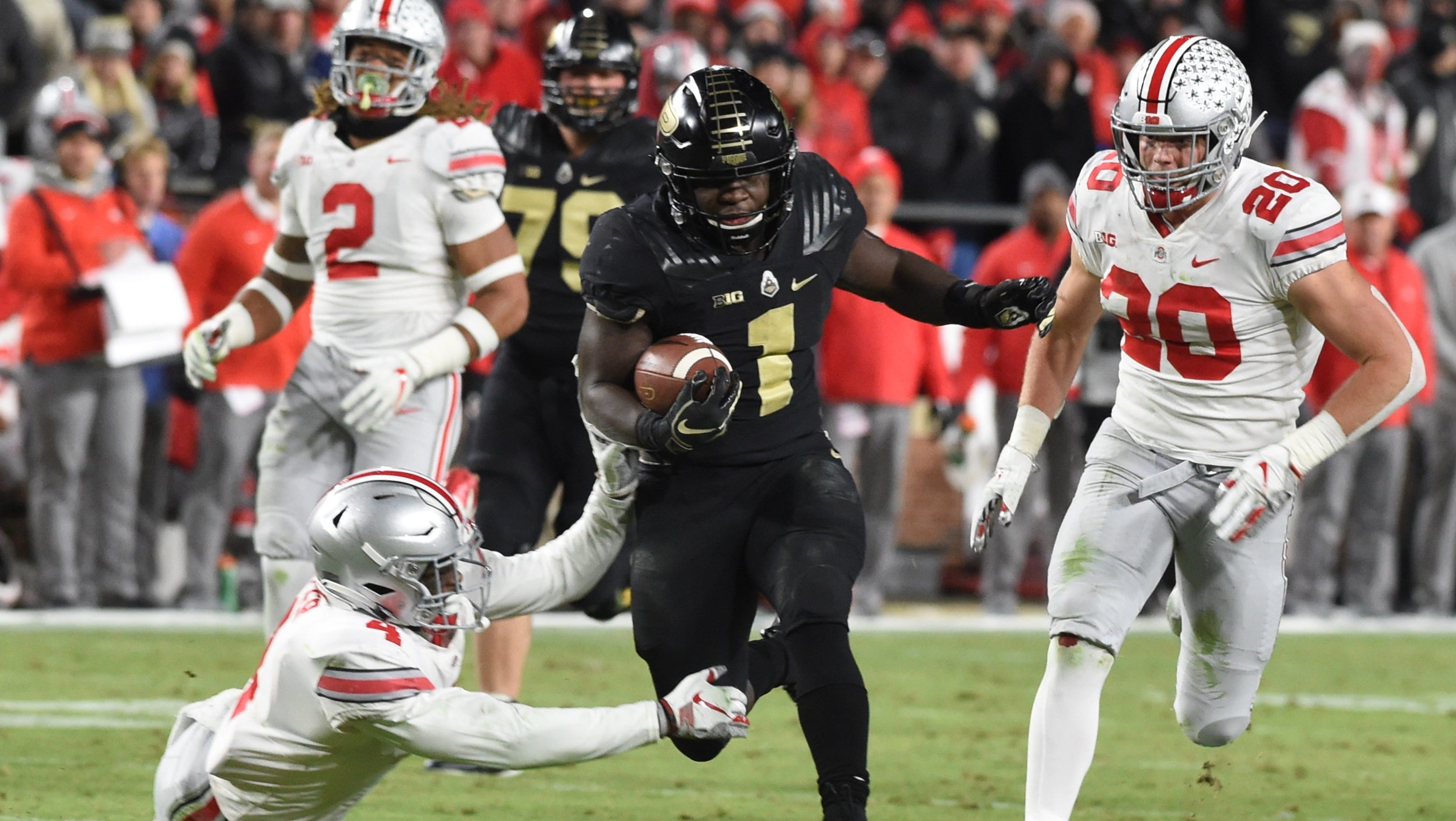 Ohio State Buckeyes Football Routed At Purdue In First Loss Of Season