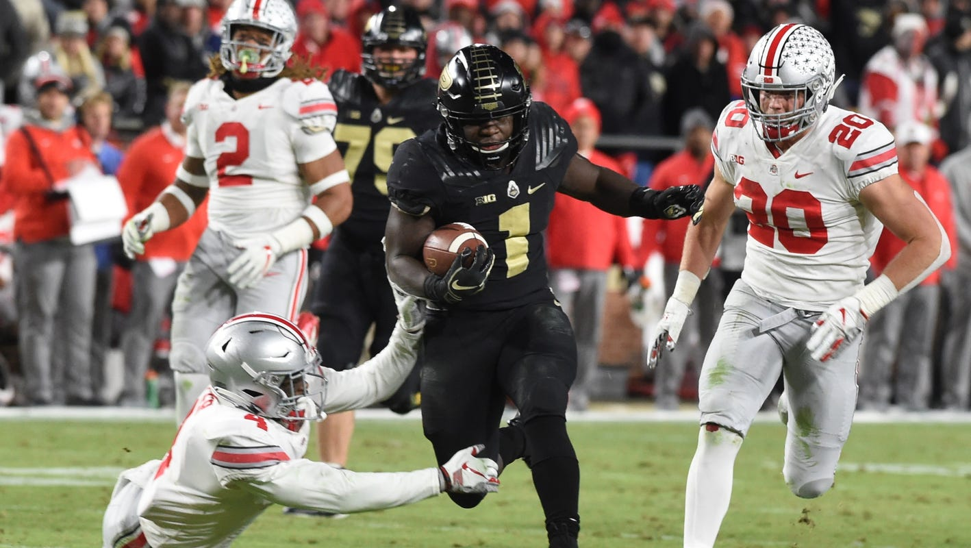Ohio State Buckeyes Football Routed At Purdue In First Loss