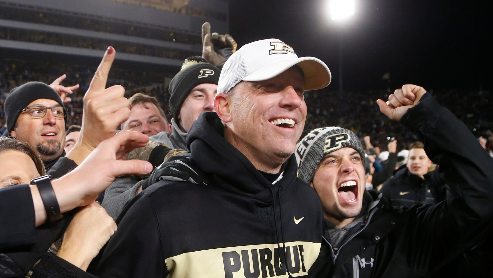 Real life, sports made Ohio State win memorable for Purdue fans