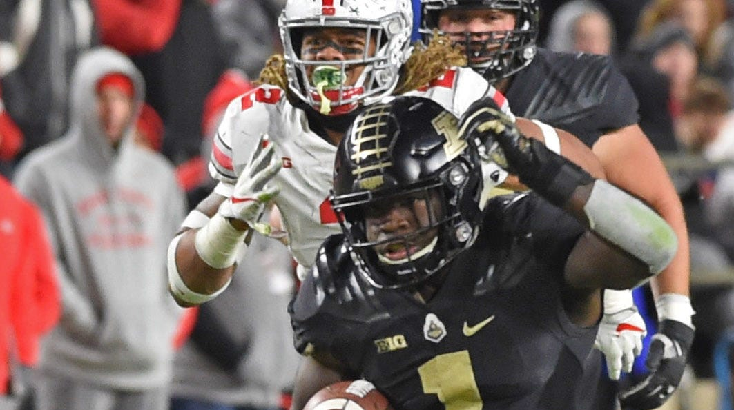 Purdue football offense's balanced attack showing up in big plays