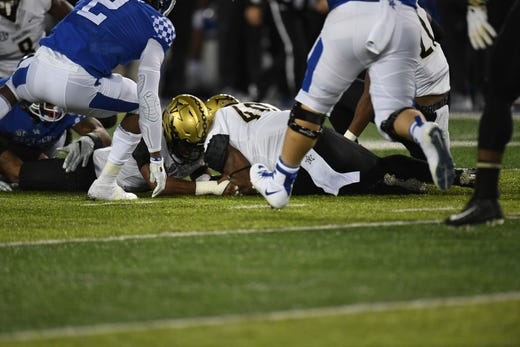 Kentucky football vs. Vanderbilt: Vandy misses another ...