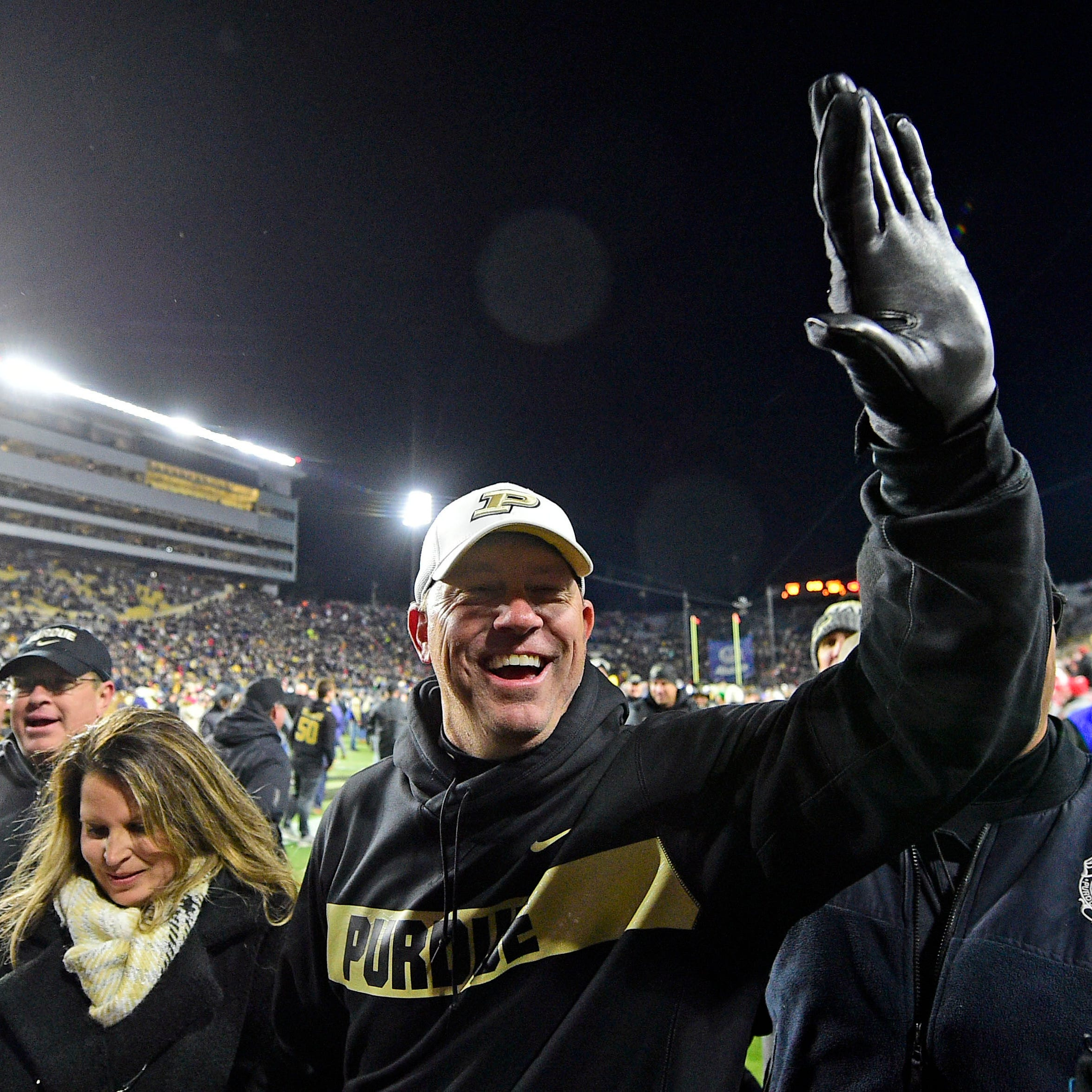 Purdue's big win increases the Jeff Brohm-to-Louisville chatter