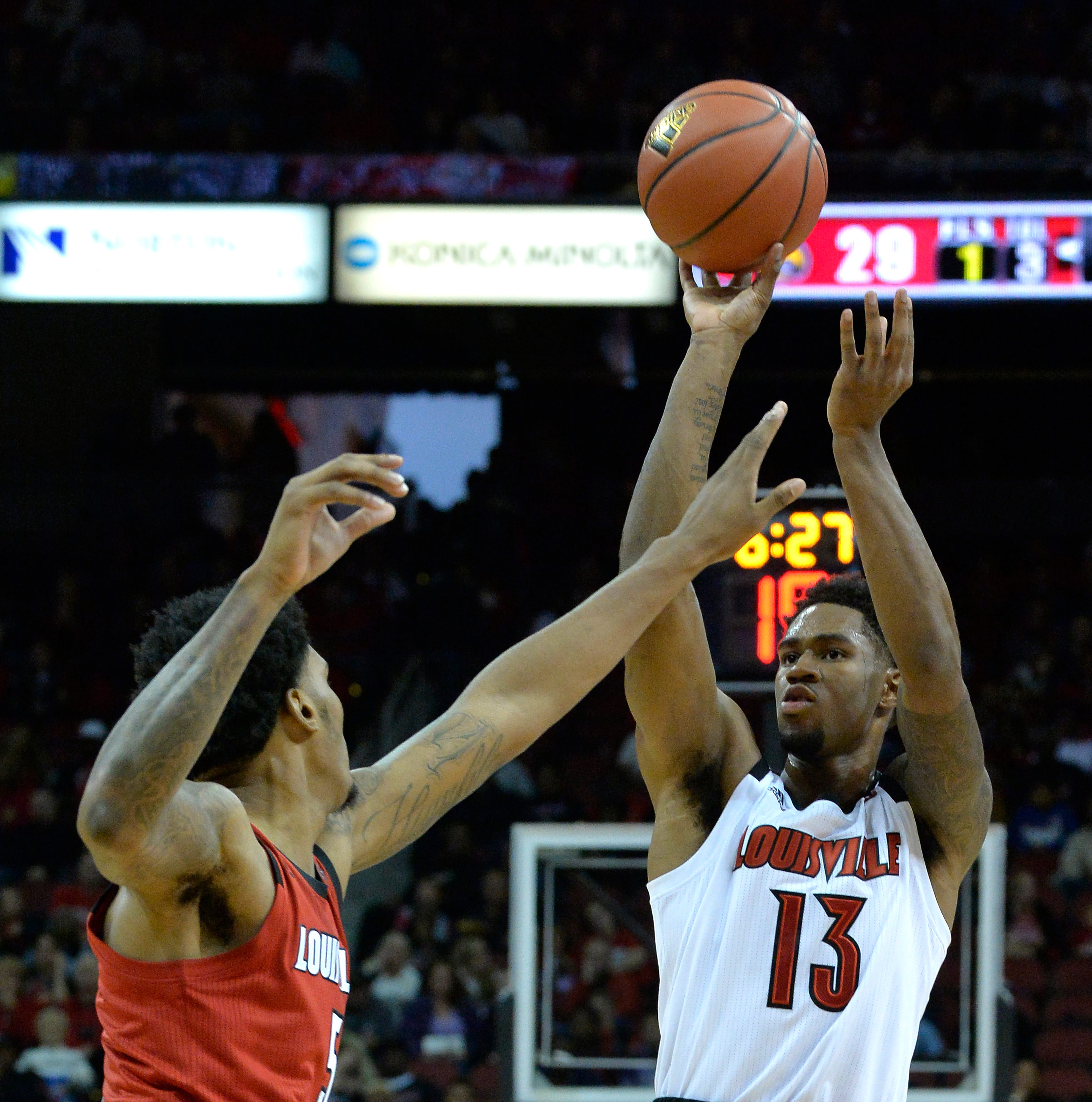 Key takeaways from Louisville basketball's Red-White scrimmage