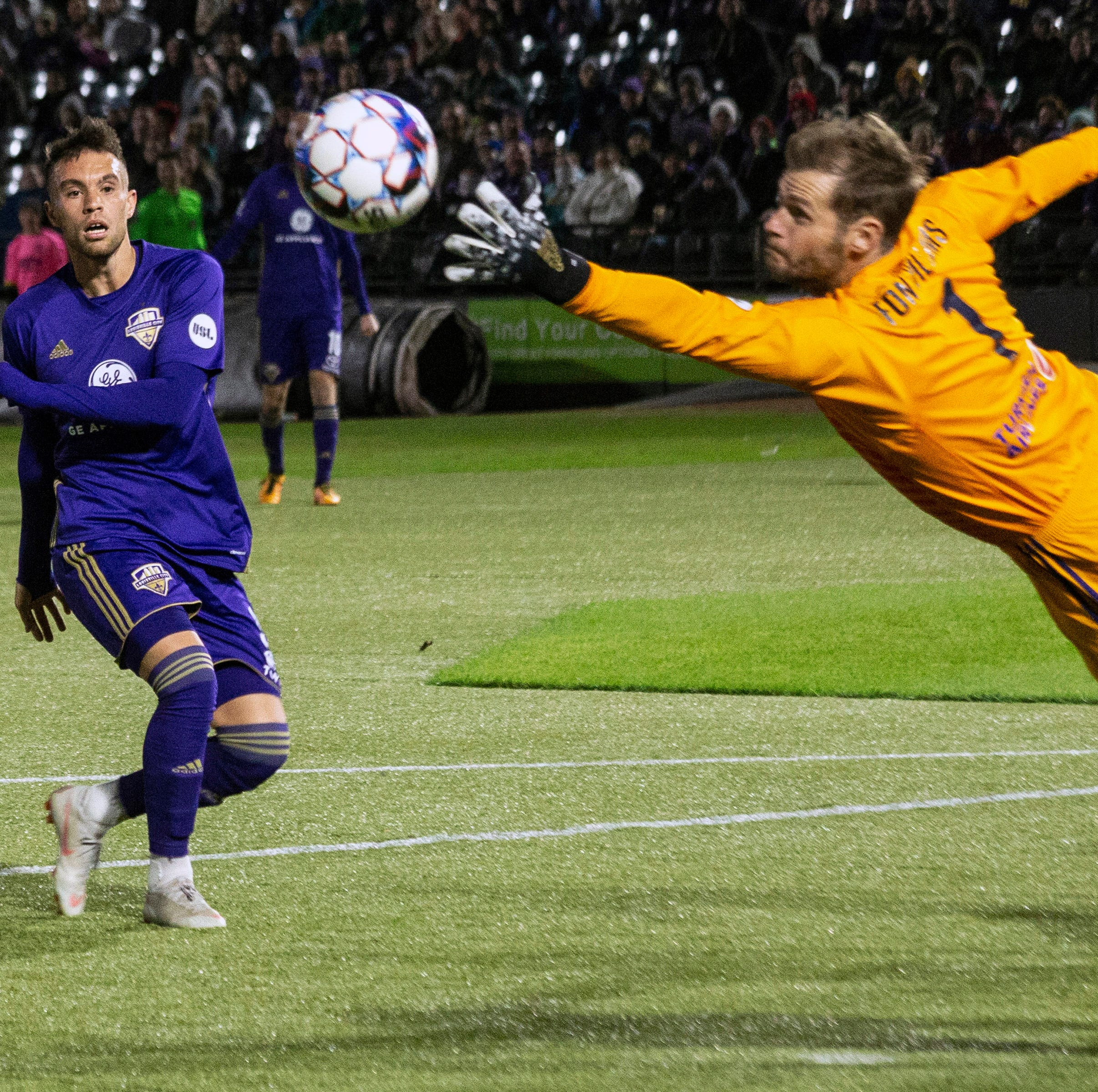 Experience, execution fueled Louisville City's USL playoff-opening win