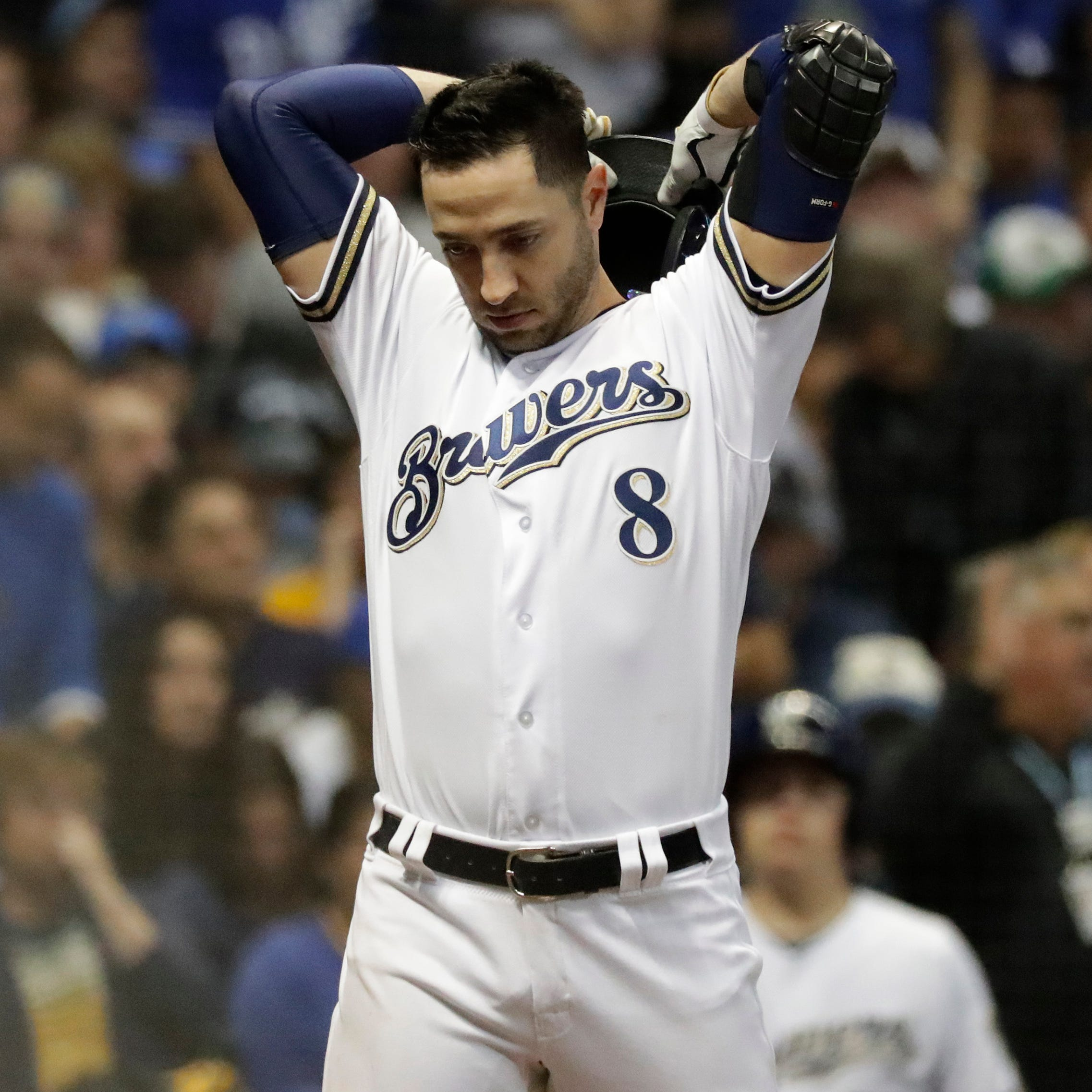 Though painful to fall one game short of World Series, Brewers anticipate future success