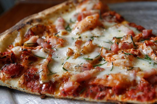 If you buy one of five kinds of Vennture beer at Sugar Maple Sunday, you can get a free slice of pizza from Classic Slice.