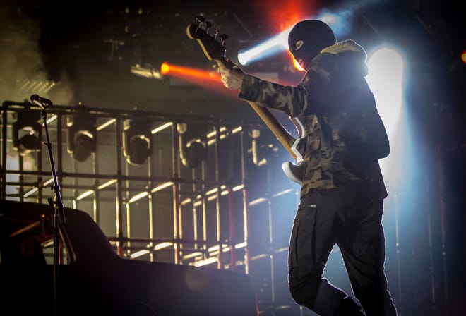 Twenty One Pilots performs at a sold-out Fiserv Forum Saturday.
