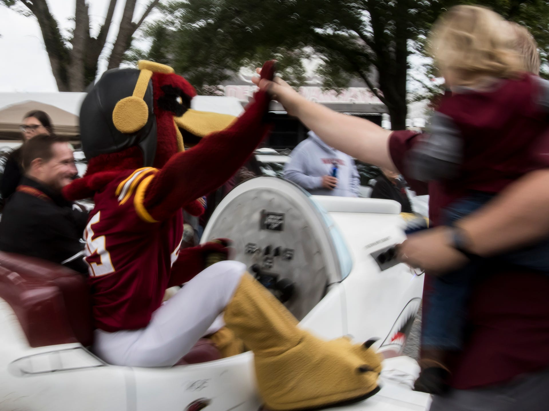University of Louisiana at Monroe celebrated Homecoming with a parade through The Grove prior to the football game against Texas State University on Oct. 20 in Monroe, La.