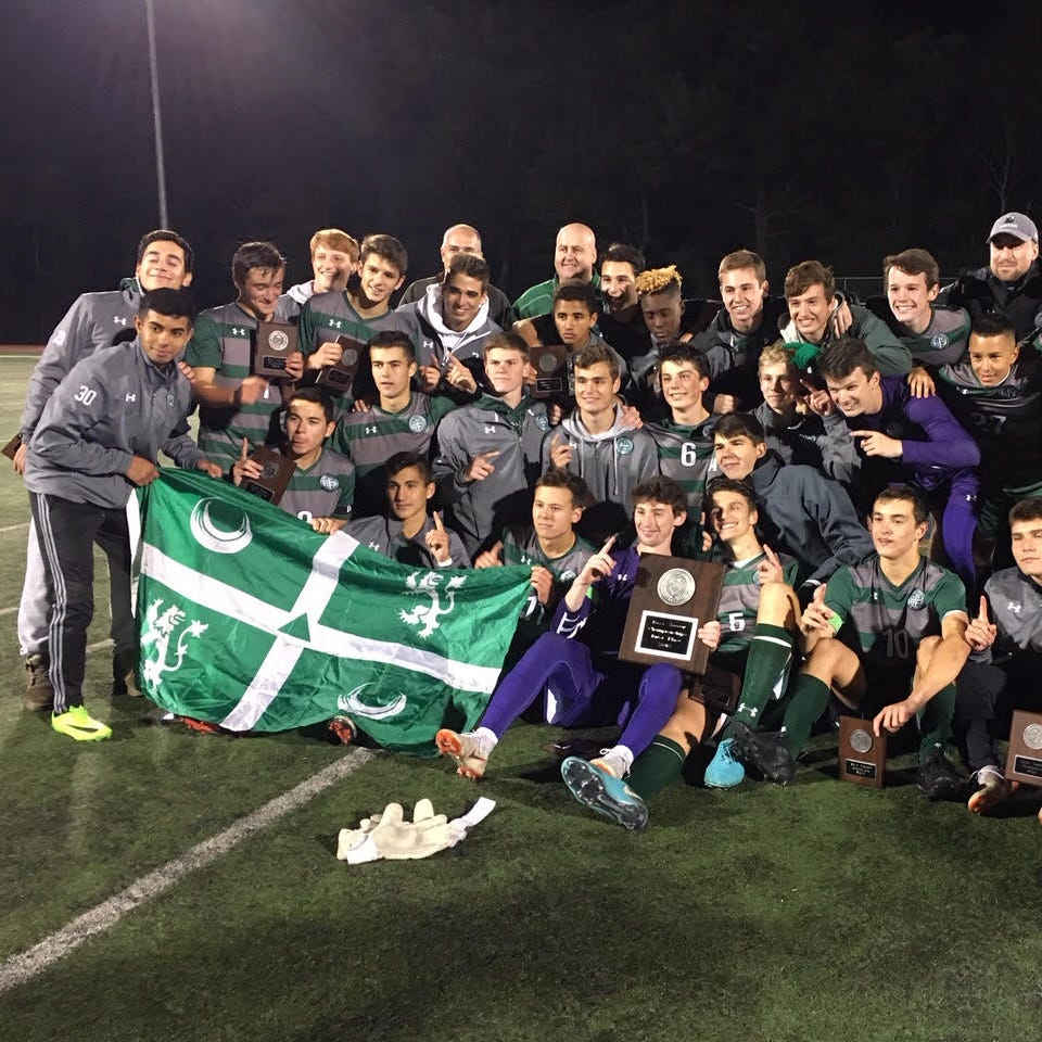 Donovan family celebrates as Delbarton defends Morris County Tournament title