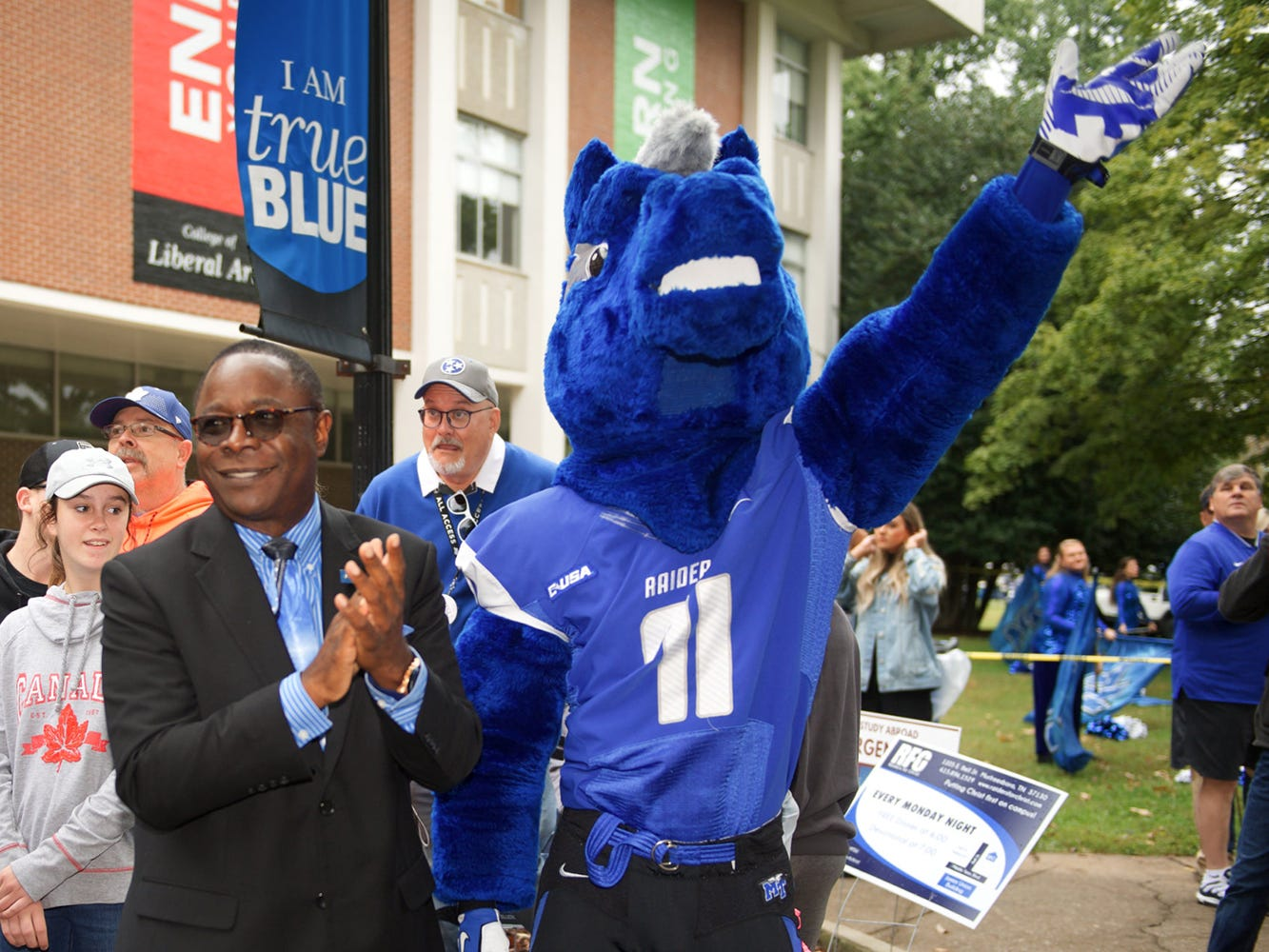 MTSU cancels Friday afternoon classes in preparation for football game vs. Western Kentucky