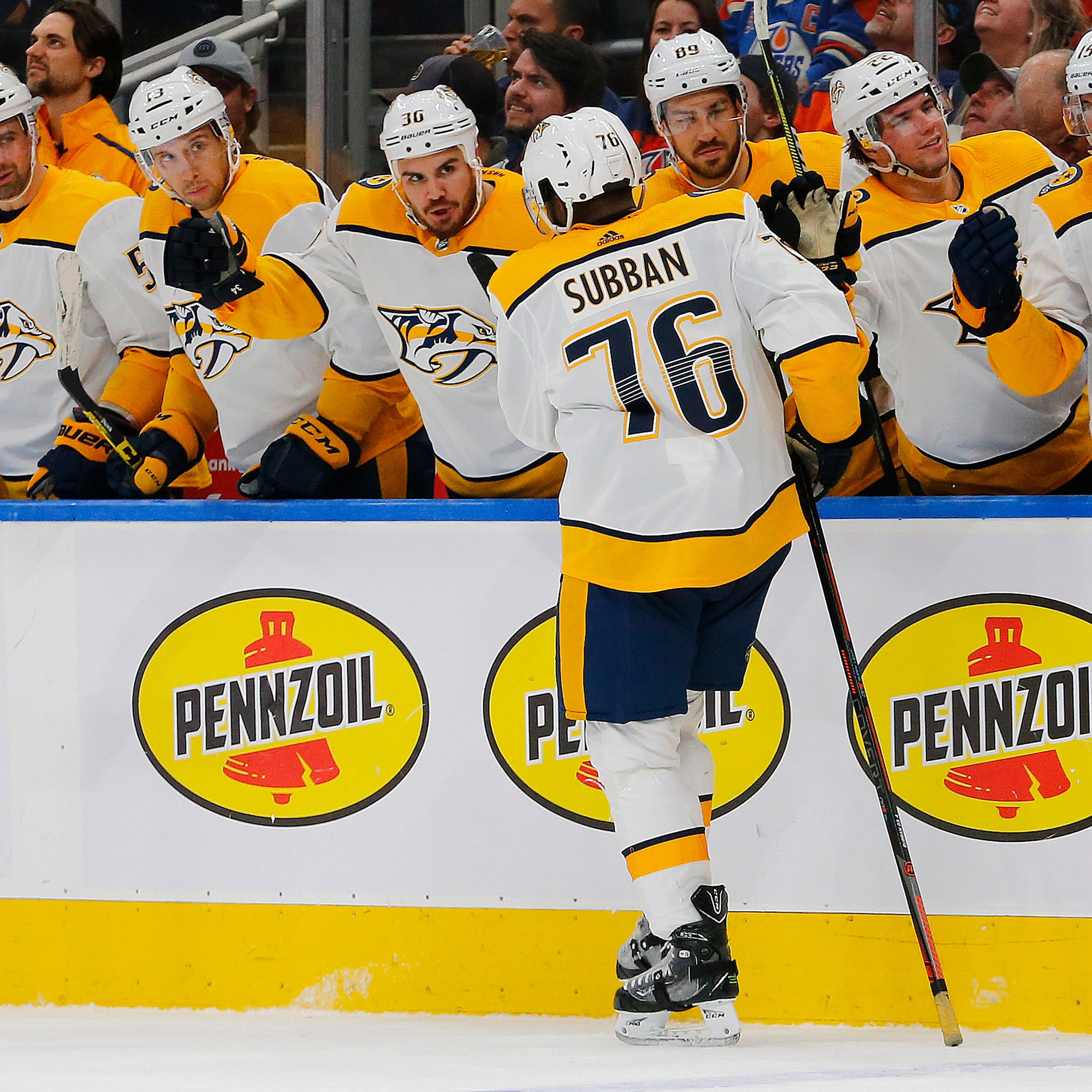 Predators put P.K. Subban on injured reserve; Viktor Arvidsson out 6-8 weeks