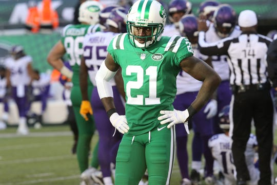 Morris Claiborne and the Jets were not happy with the outcome of the game, Sunday, October 21, 2018.