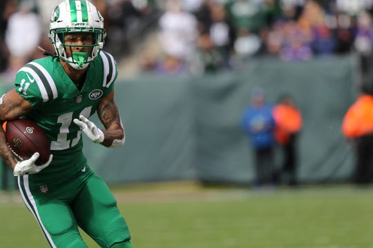 NY Jets receiver Robby Anderson
