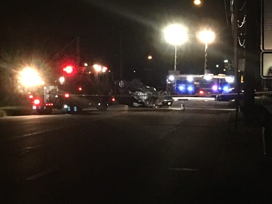 A Totowa woman died in this three-car accident in Wayne Saturday night, Oct. 20, 2018.