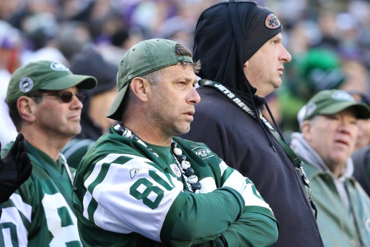 Jets fans did not have much to smile about as their team lost to the Vikings, 37-17.  Sunday, October 21, 2018