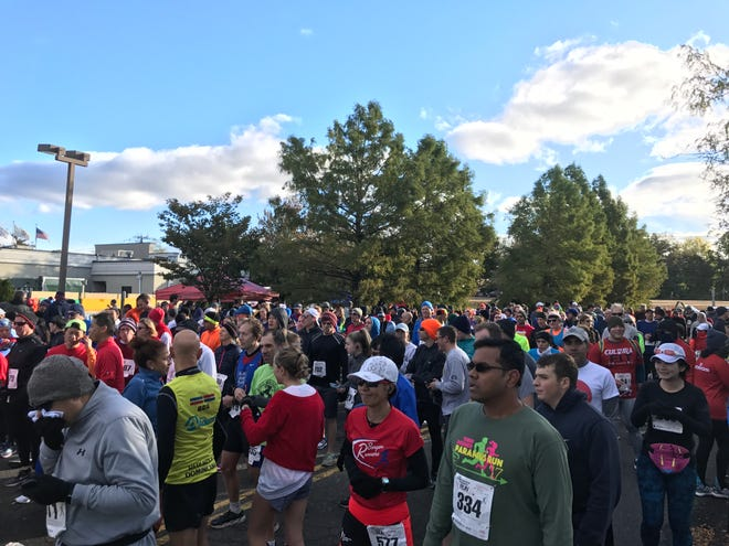 Hundreds turned out for the Marty Roemer 10K, part of the 40th Annual Terri Roemer Paramus Run, on Oct. 20, 2018.