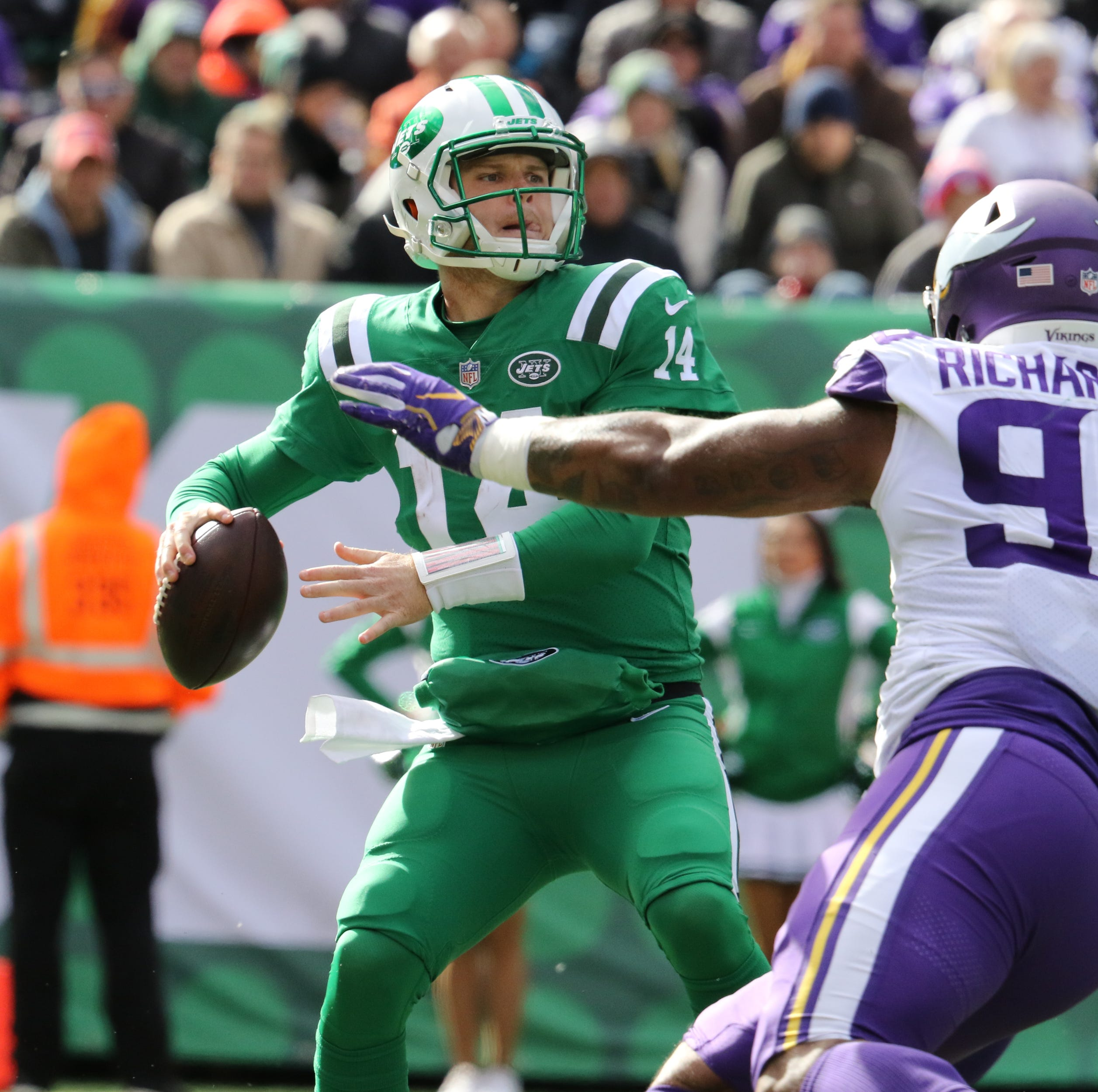 Jets' Sam Darnold couldn't get going against the Vikings, what went wrong