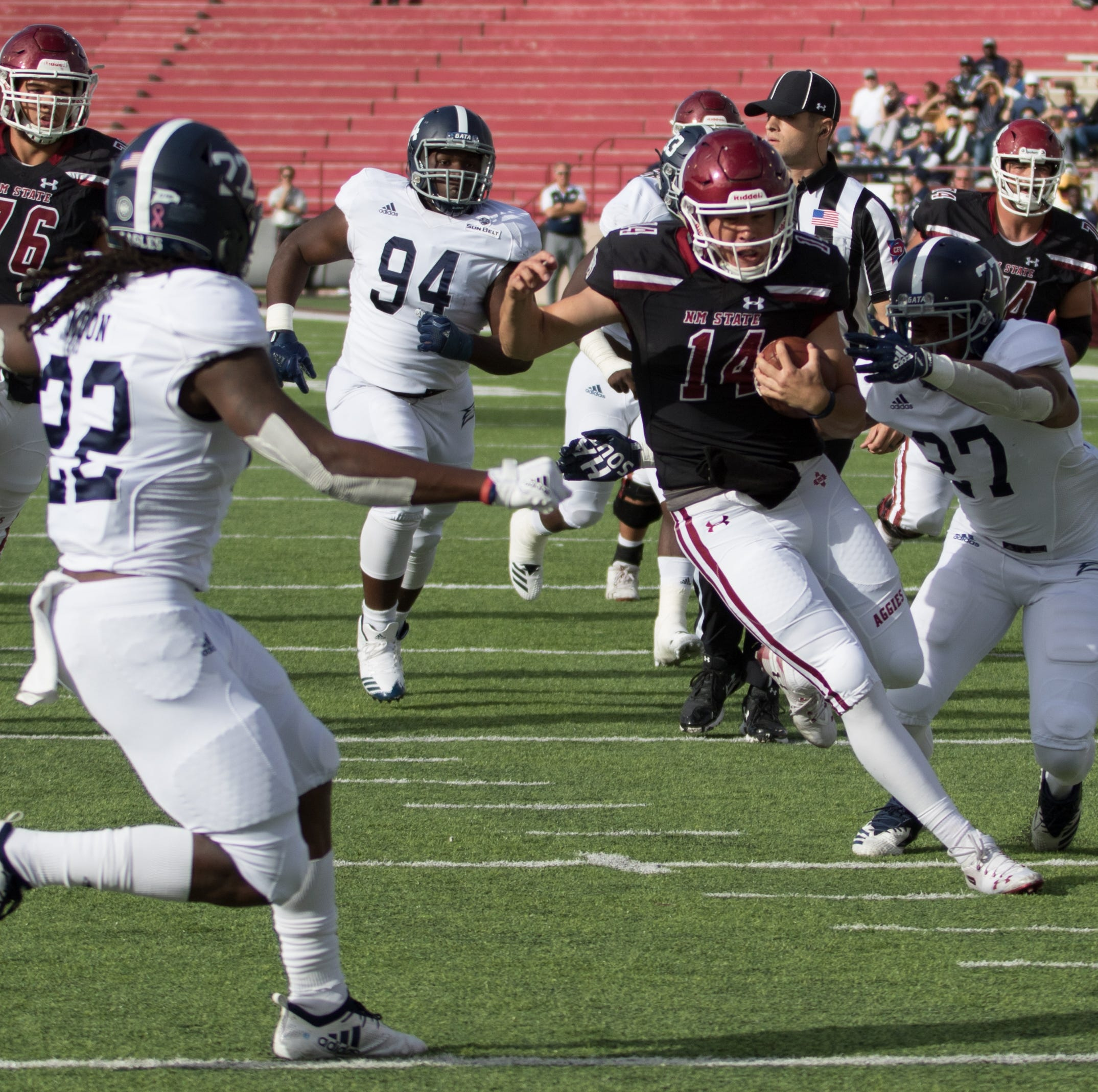 New Mexico State hosts Georgia Southern