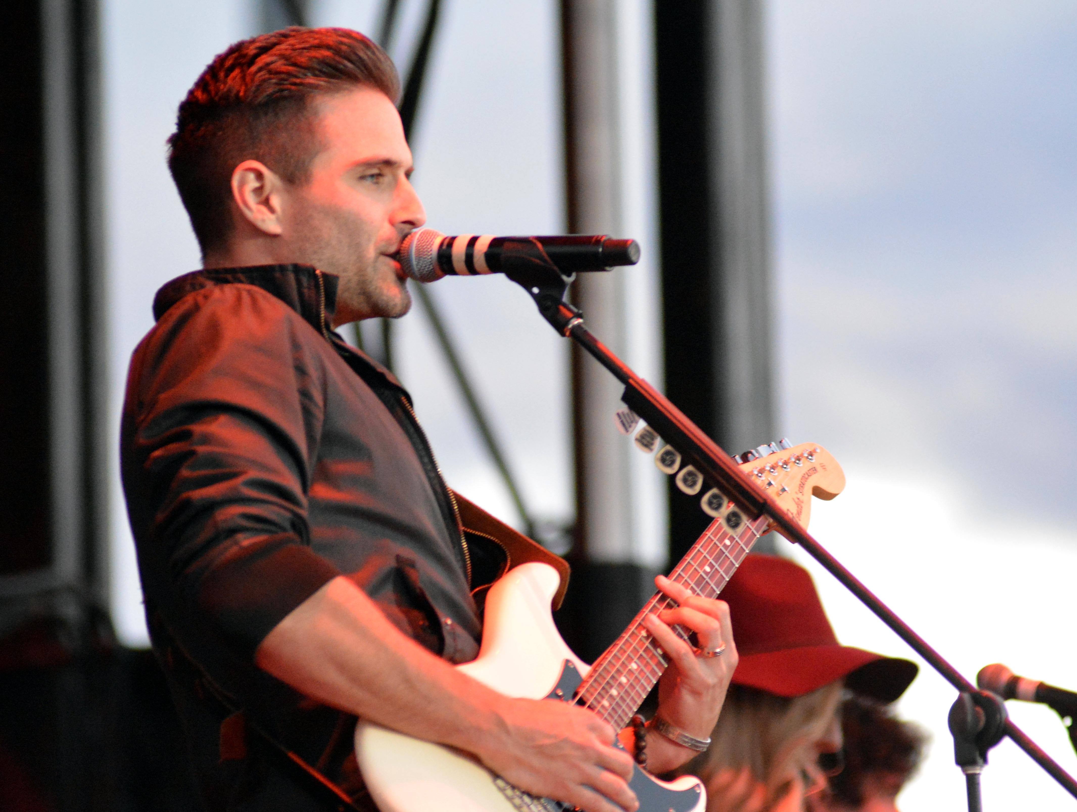 Brennin opens on the Main Stage at the Las Cruces Country Music Festival on Saturday, Oct. 20, 2018.