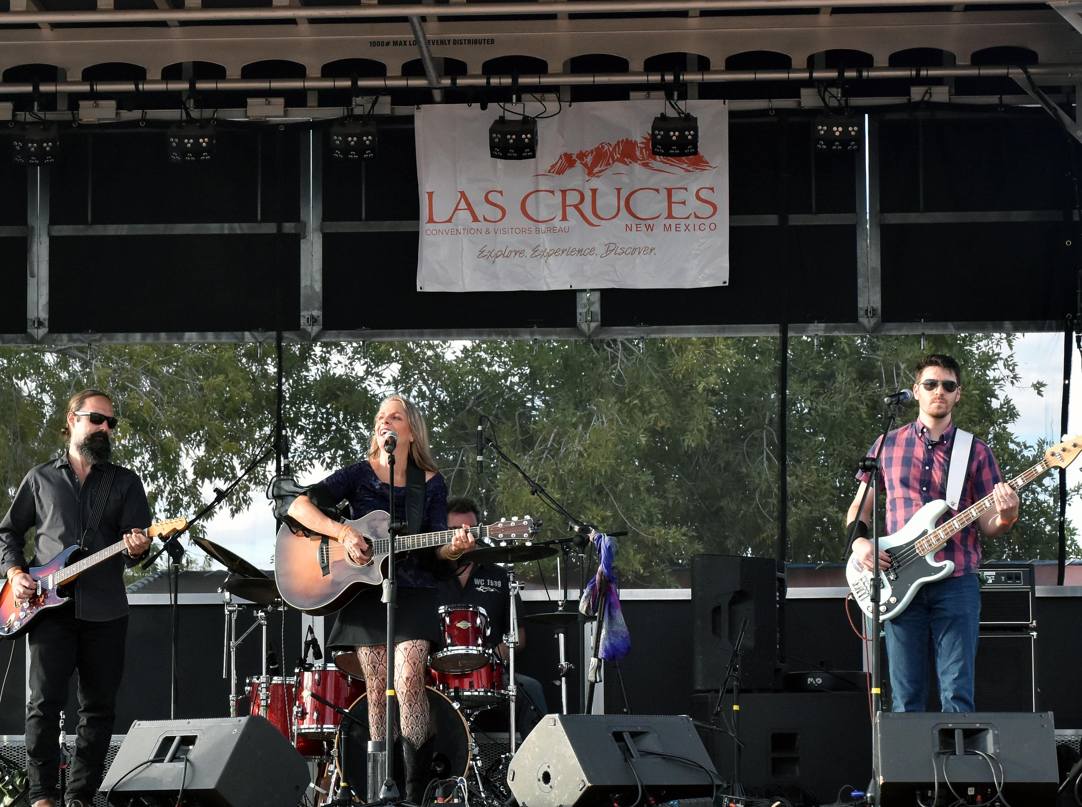 Half-Broke Horses opens the Las Cruces Country Music Festival on Saturday, Oct. 20, 2018.