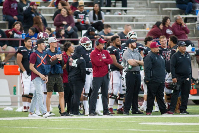 New Mexico State is 2-7 entering Saturday's home finale against Alcorn State at Aggie Memorial Stadium.
