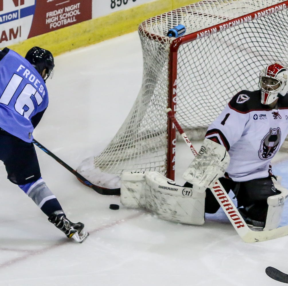 PHOTOS: Ice Flyers fall to Birmingham in home opener