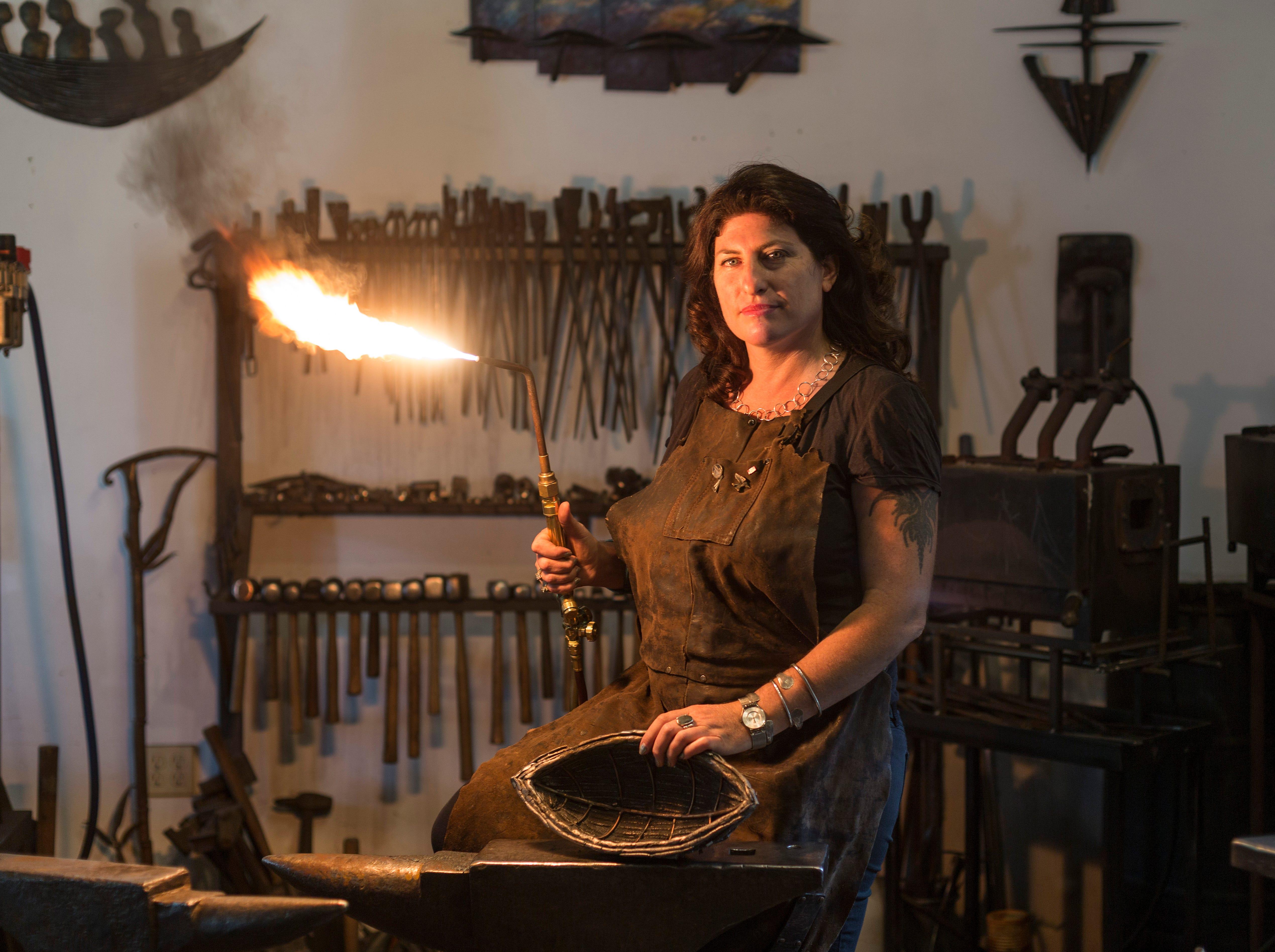 Women of Fire: Female artists bring the heat to First City Art Center