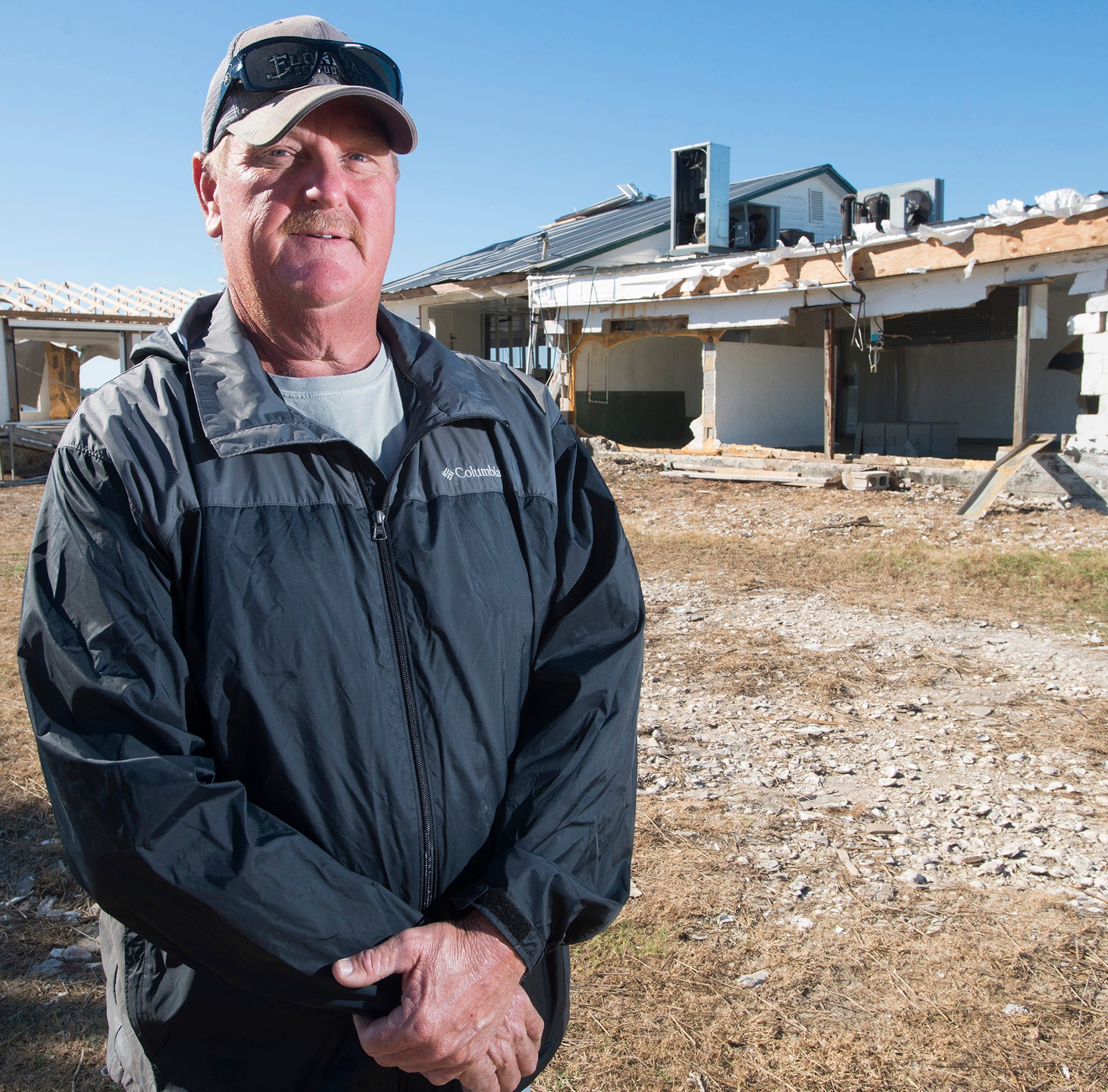 Tommy Ward, a longtime oysterman from Apalachicola, hopes Hurricane Michael will rejuvenate the struggling fishing industry he has been part of for generations.