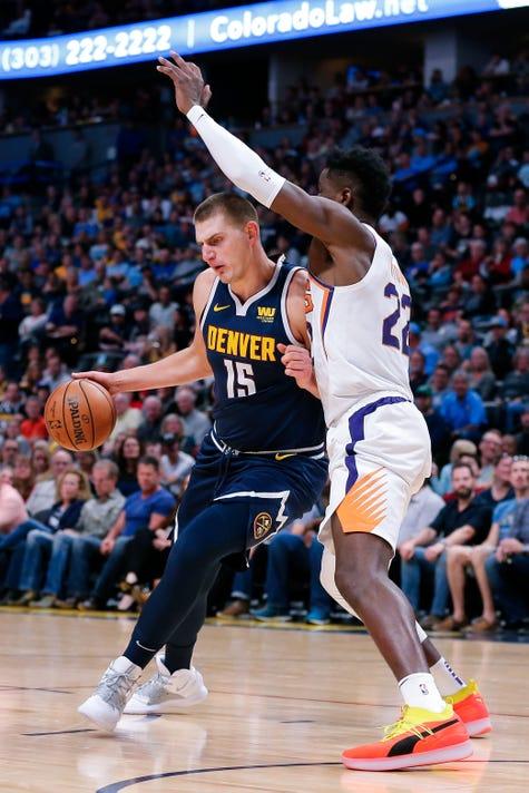 Nba Phoenix Suns At Denver Nuggets