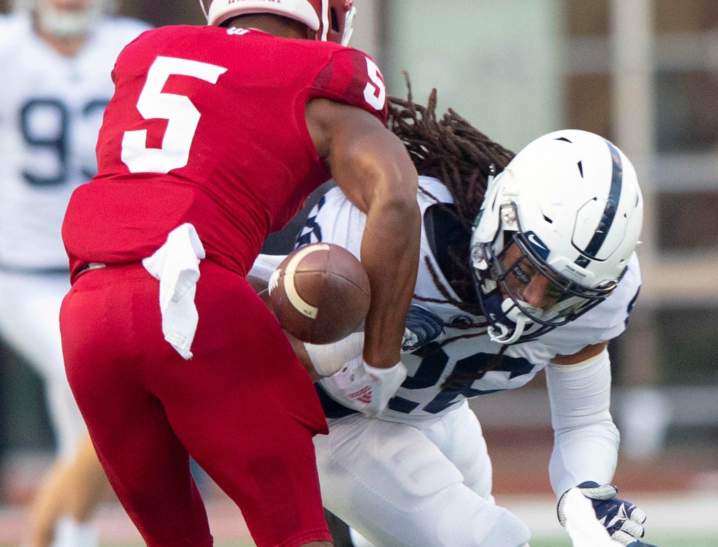 Hard-hitting Penn State freshman nicknamed 'The Assassin' set for first start vs. Iowa