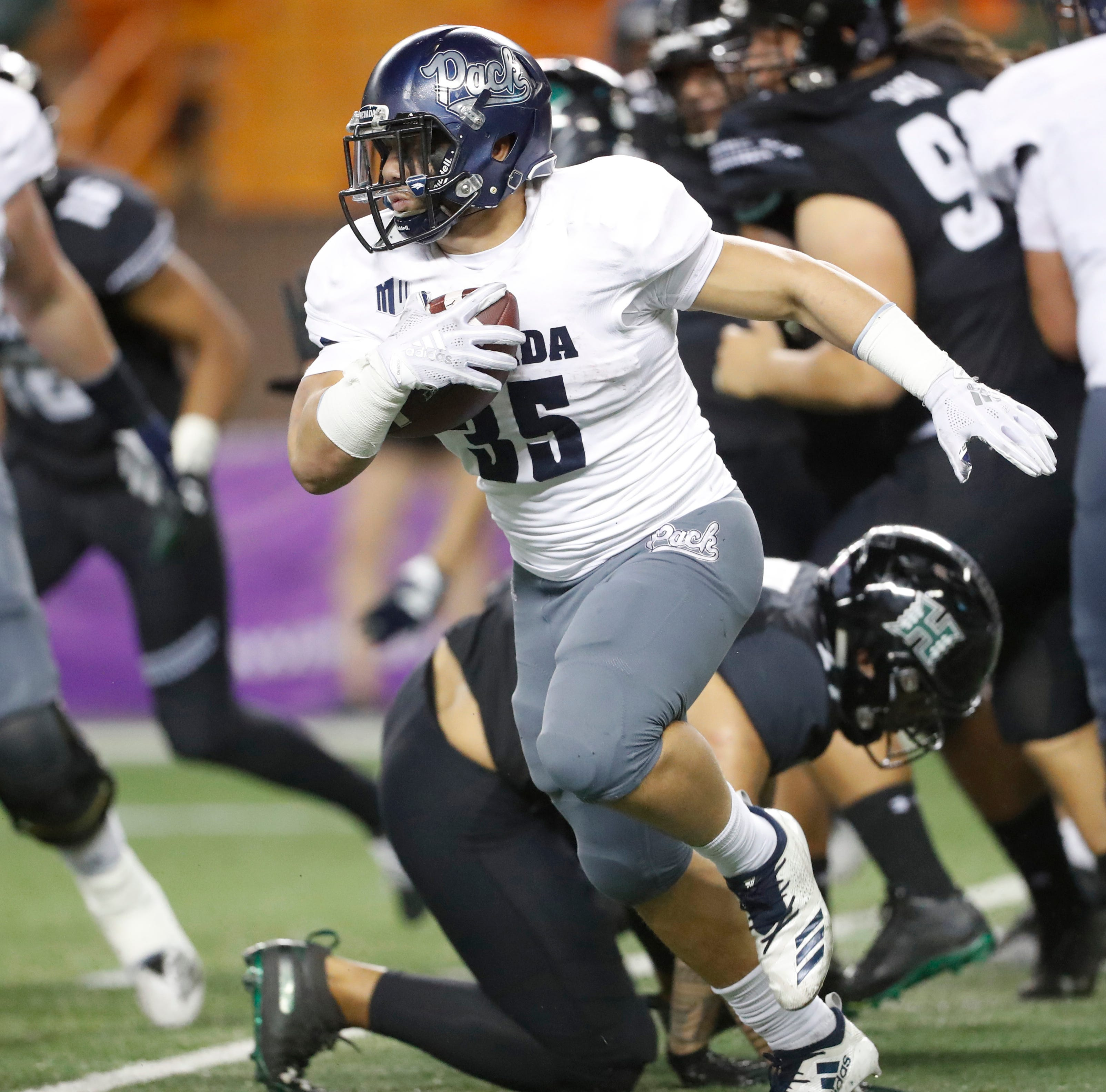 Nevada 40, Hawaii 22: Wolf Pack evens record; Lee scores twice