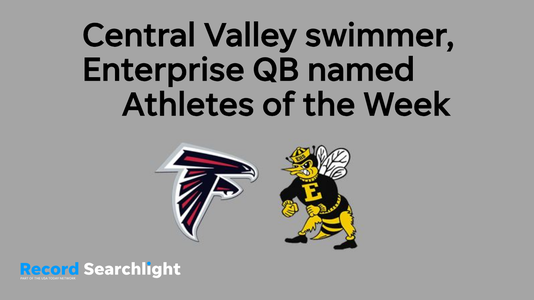 Central Valley-Enterprise Athlete of the Week graphic (Oct. 20)
