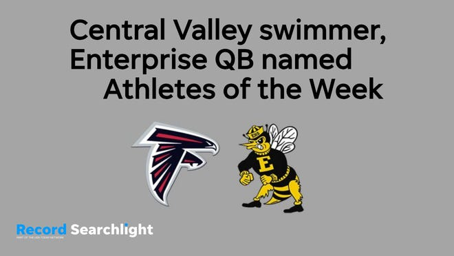 Lauren Kalsbeek of Central Valley and Zach McNeil of Enterprise came in first in Athlete of the Week voting on Saturday, Oct. 20.