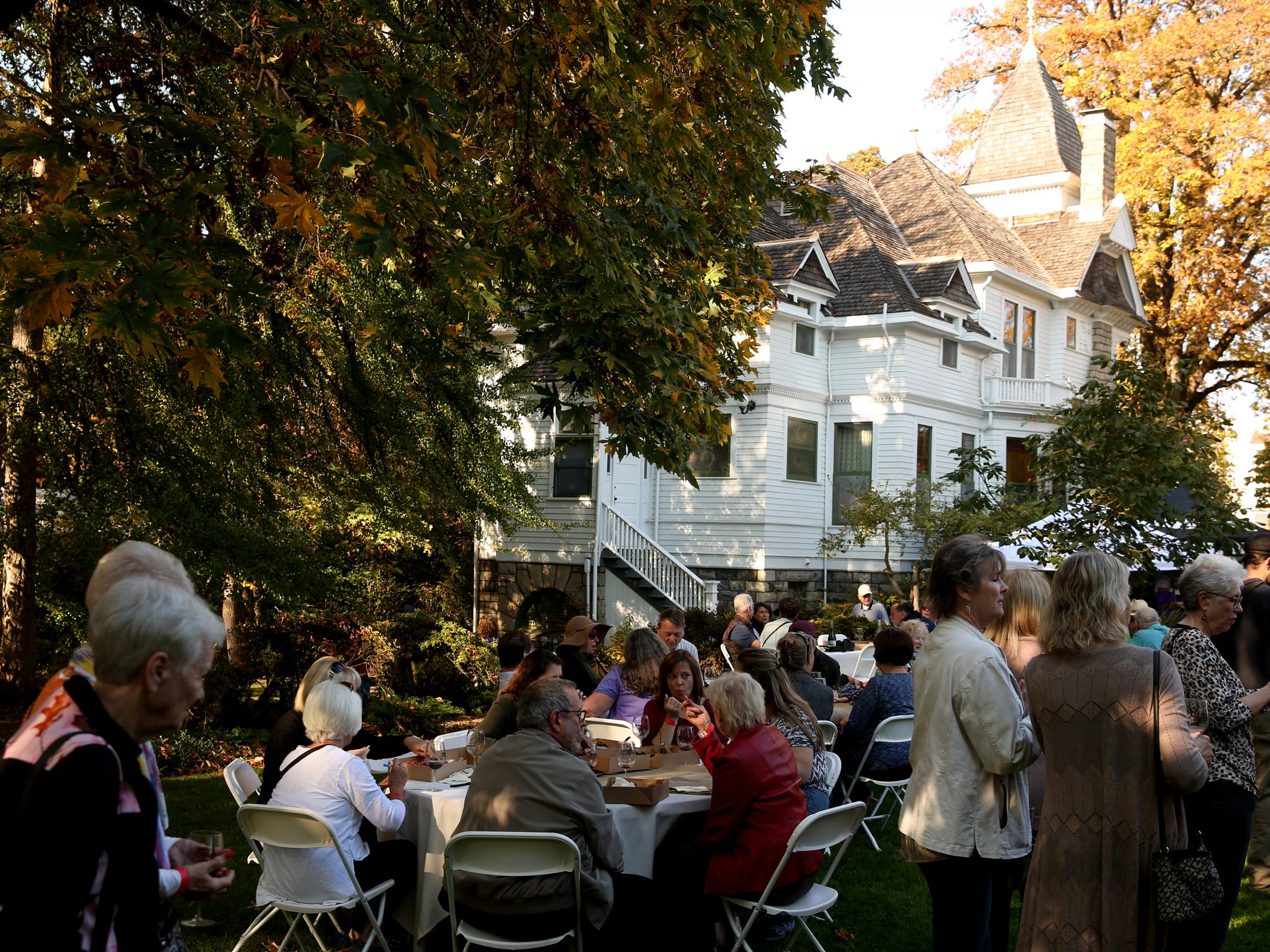 The Wine & Jazz Festival at Deepwood Museum & Gardens in Salem on Sunday, Oct. 21, 2018.