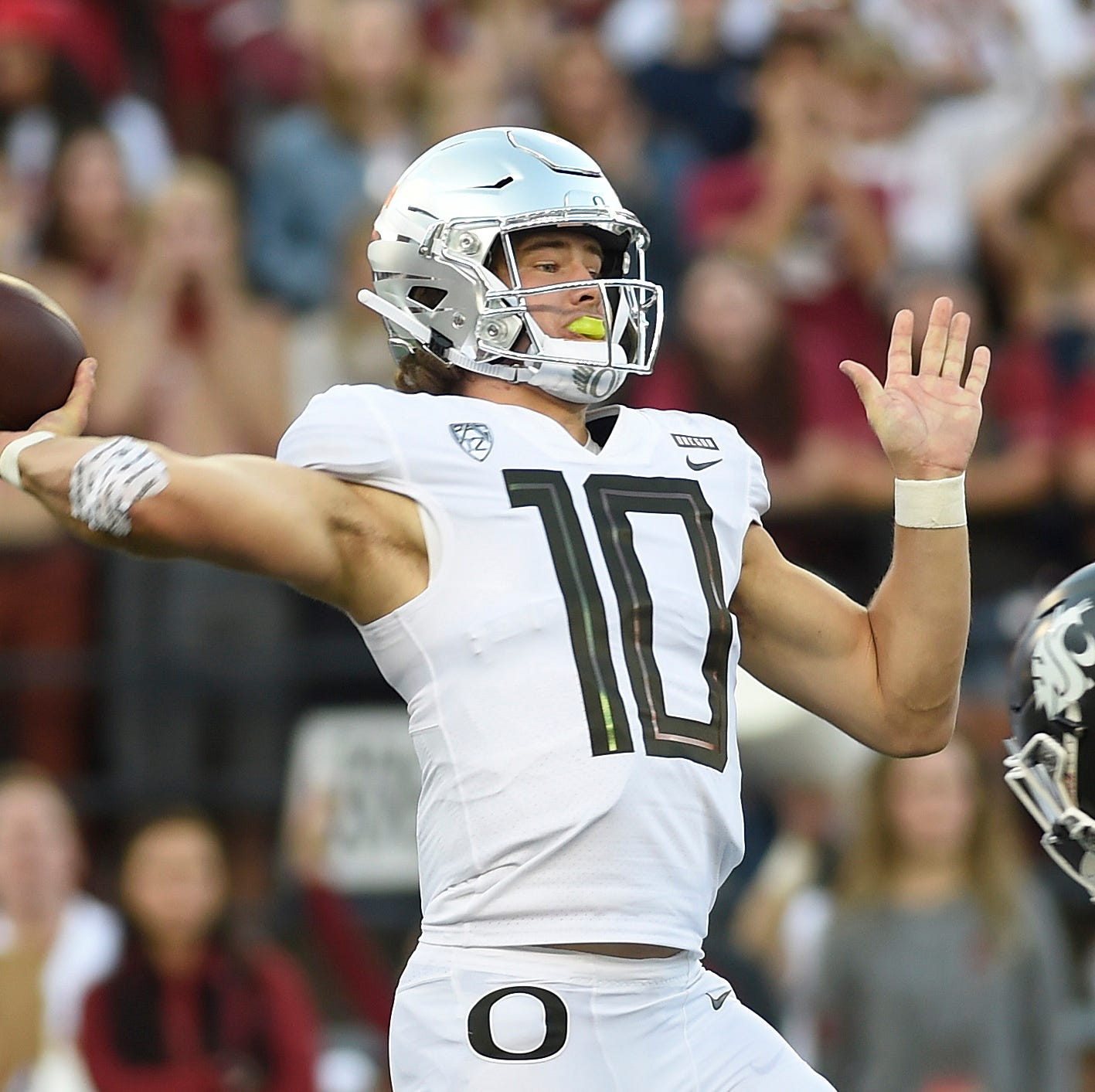 No. 12 Oregon Ducks lose at No. 25 Washington State